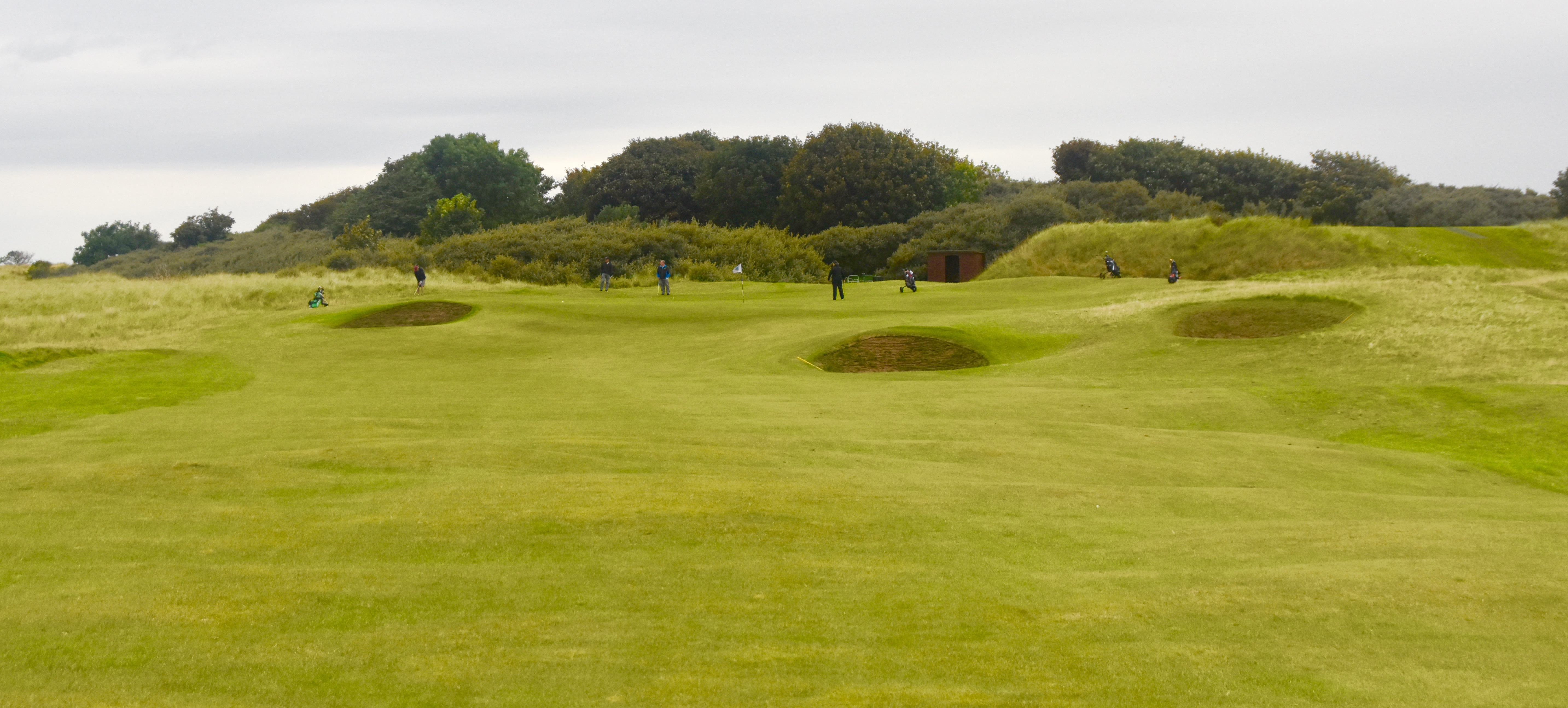 Approach to No. 9 Green