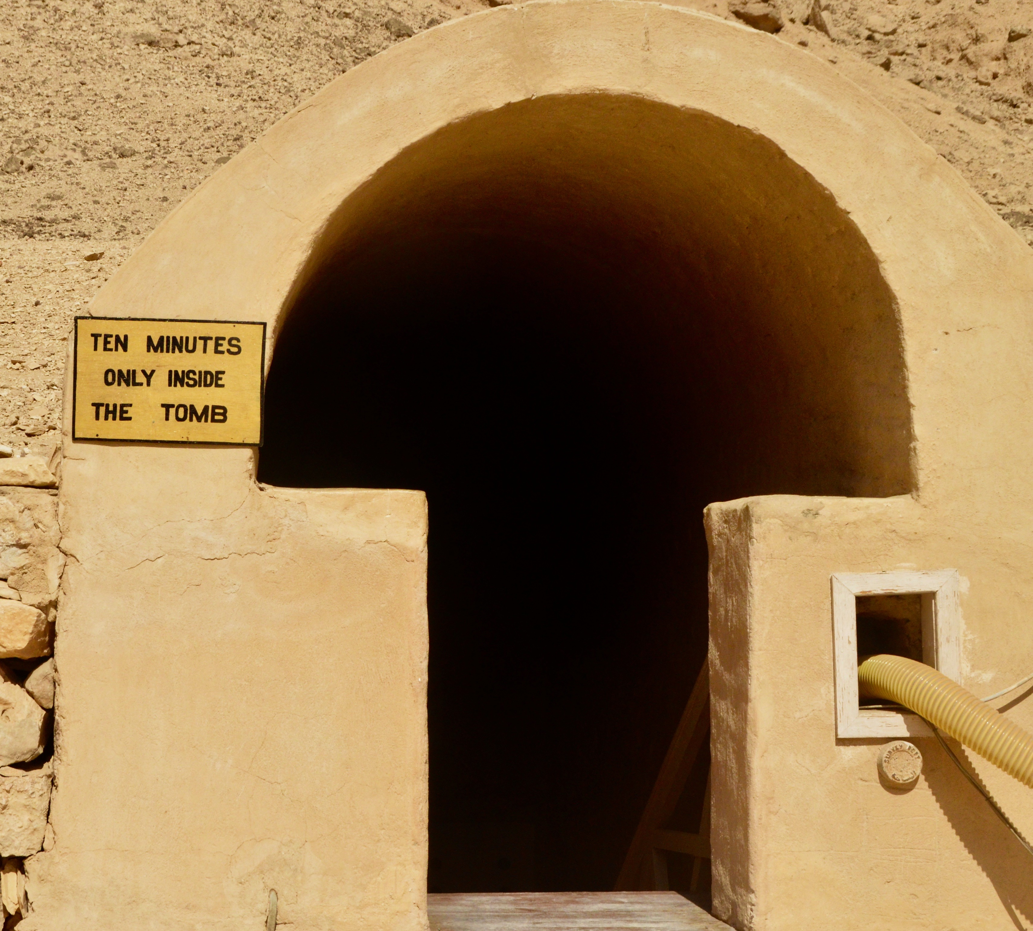 Entrance to Queen Nefertari's Tomb