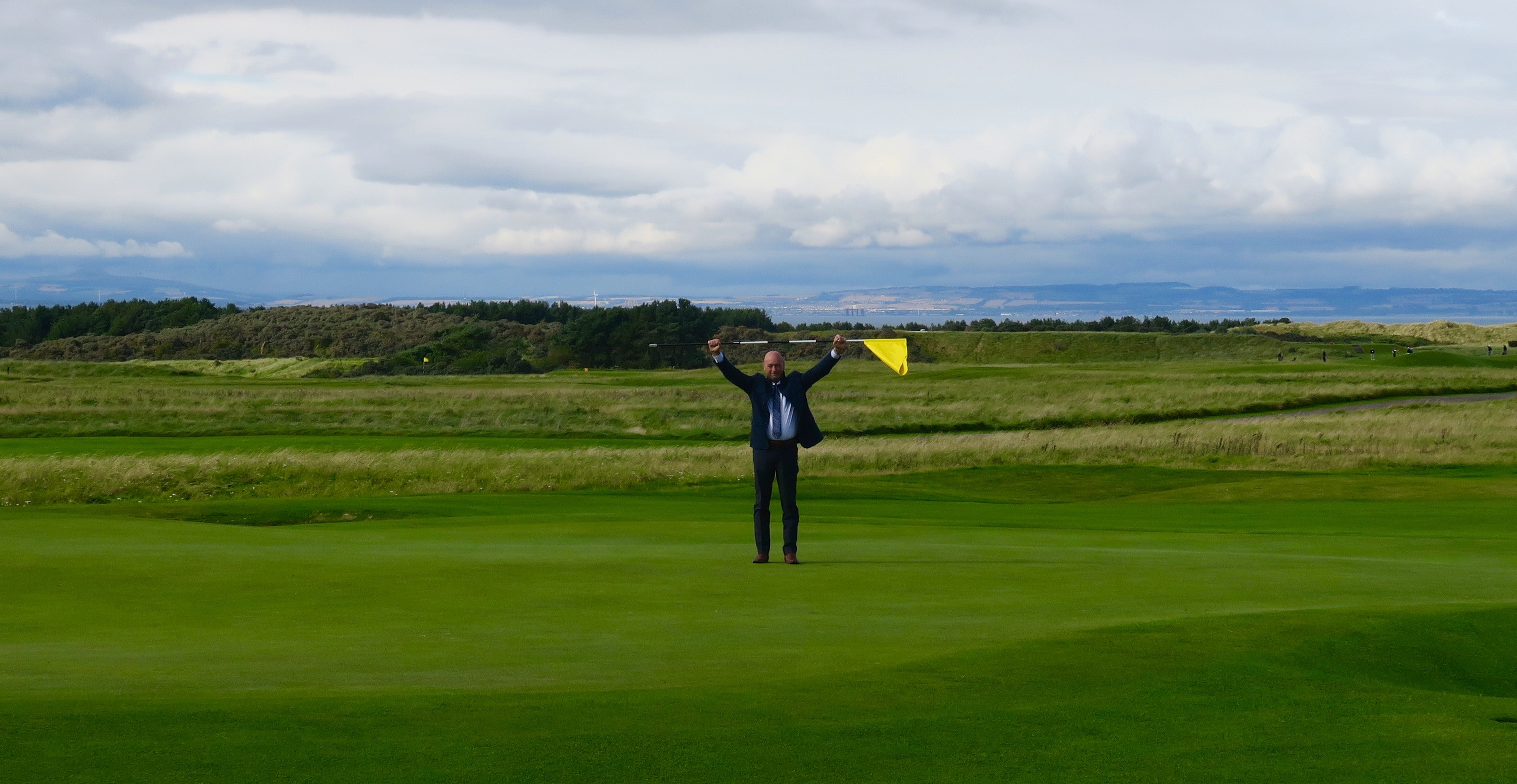 Frankie Conquers Muirfield