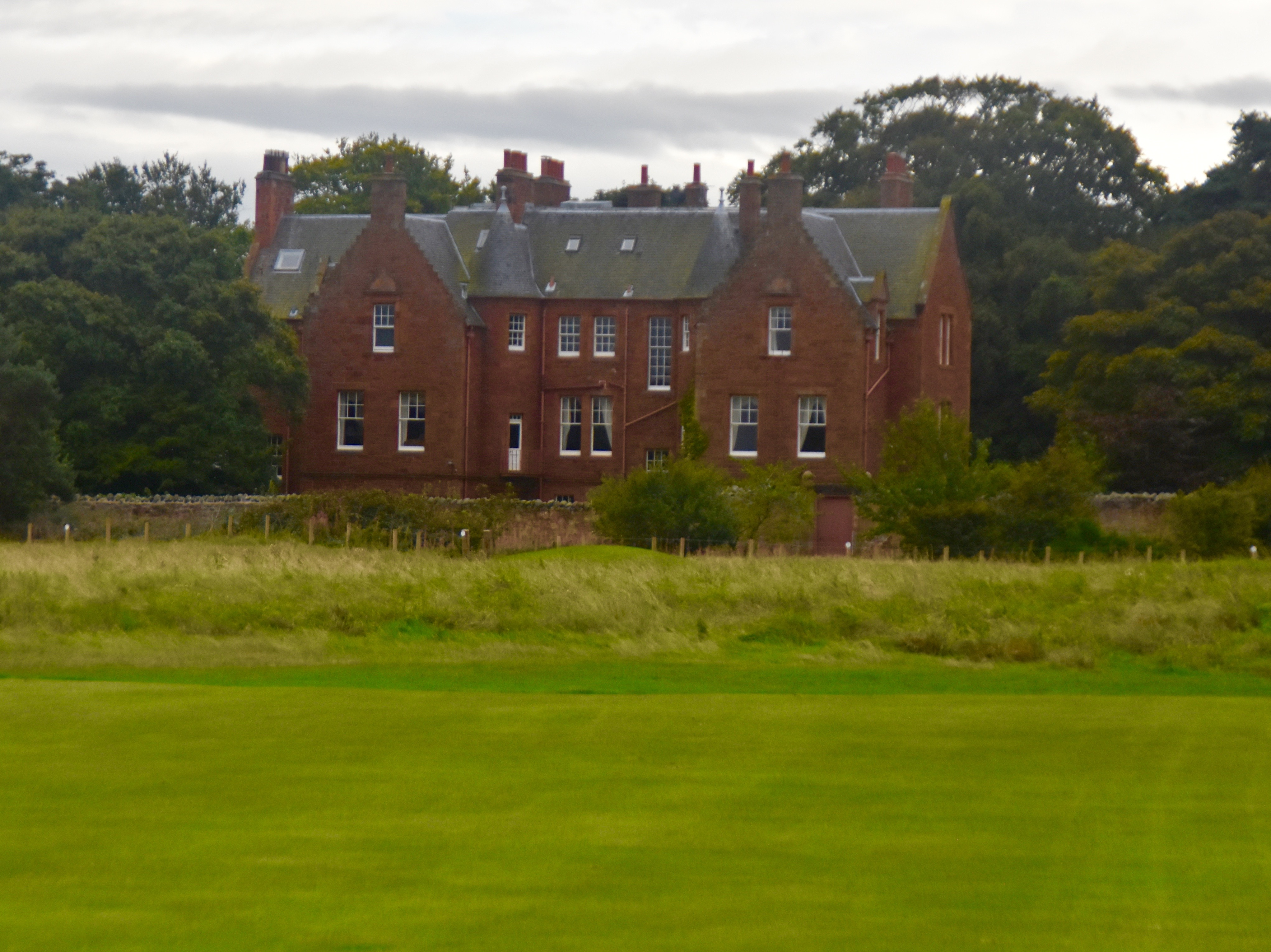 House on the course