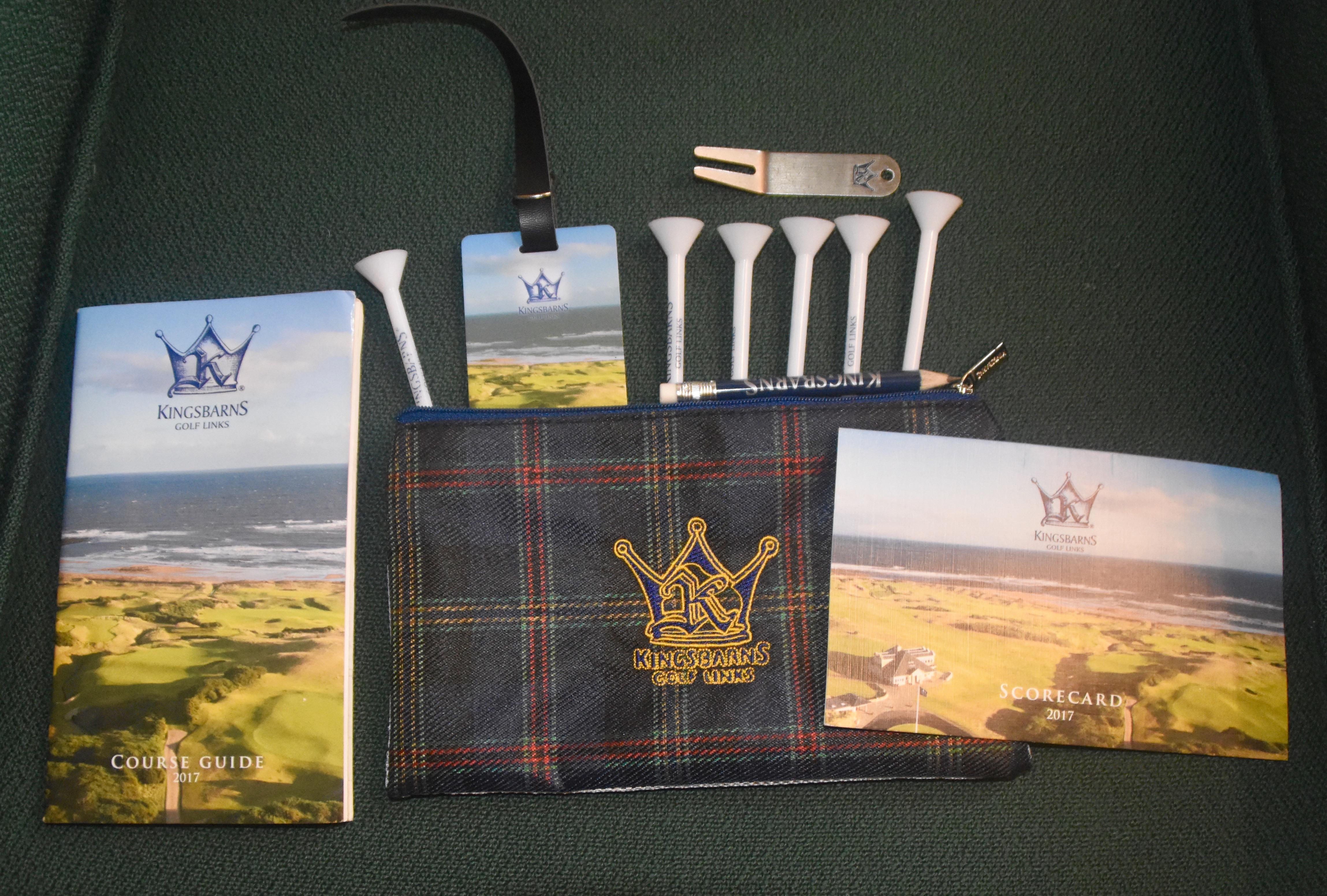 Kingsbarns Golf Packet