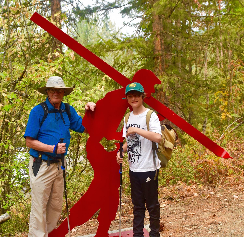 Mount Revelstoke Nels' Knickers trailhead