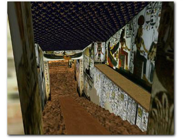 Entrance to the Tomb of Nefertari
