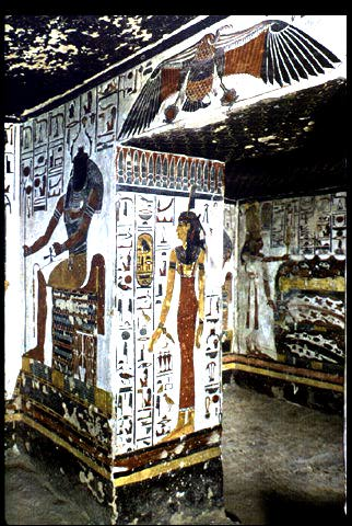 Interior of Nefertari's Tomb