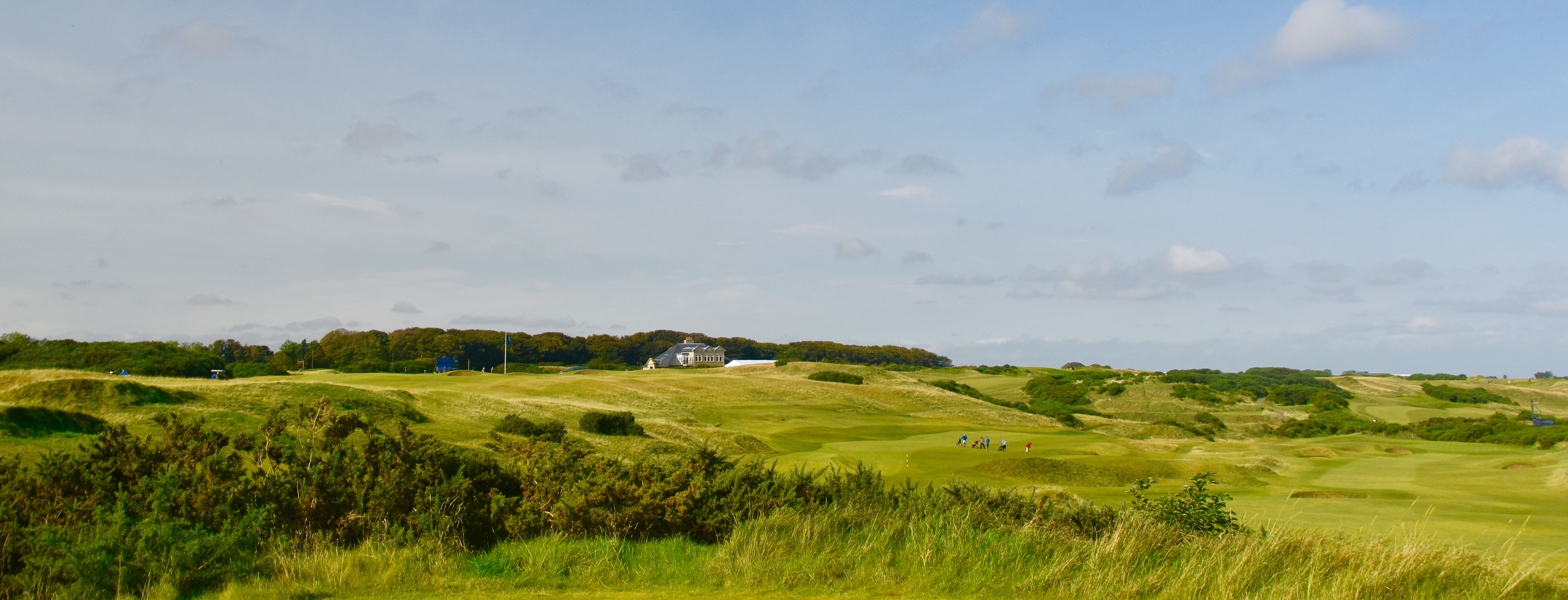 View of Kingsbarn from #8 Tee 2