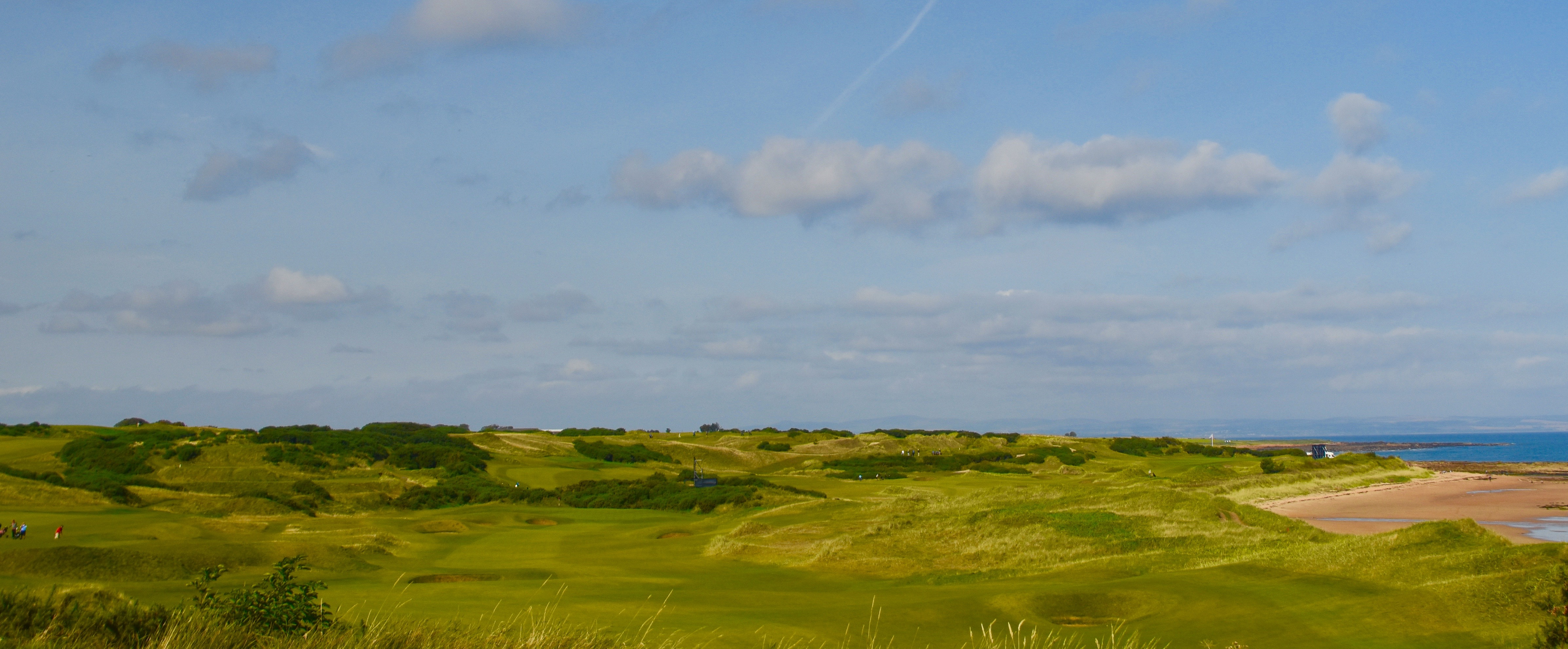 View of Kingsbarns from #8 Tee