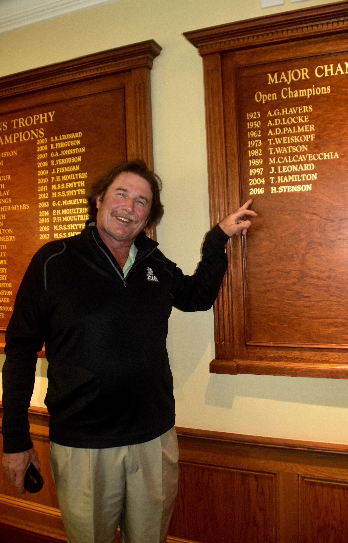 Brian's Favourite Golfer - Not!