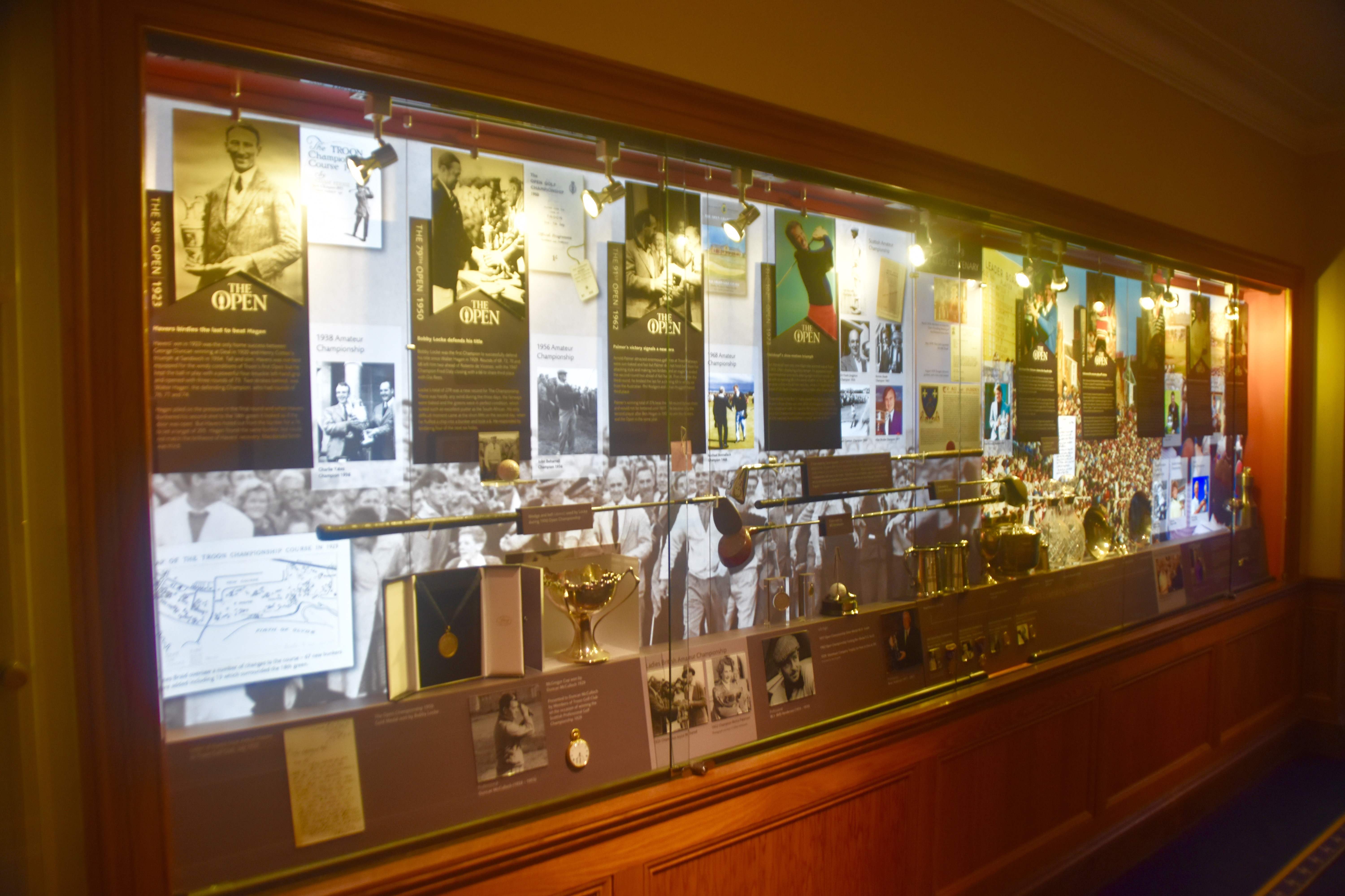 Golf History on Display at Troon