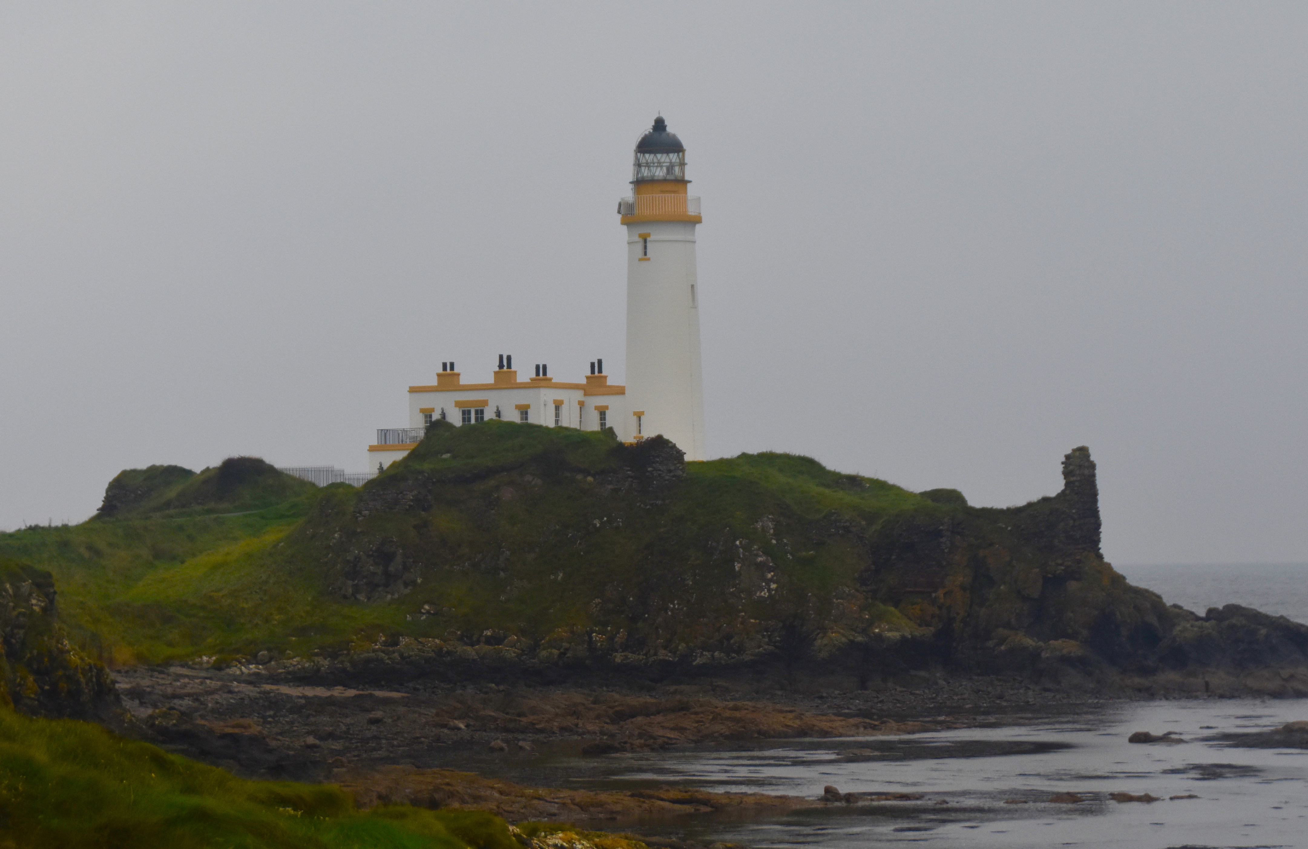 Lighthouse and Ruined Castle, Turnberry