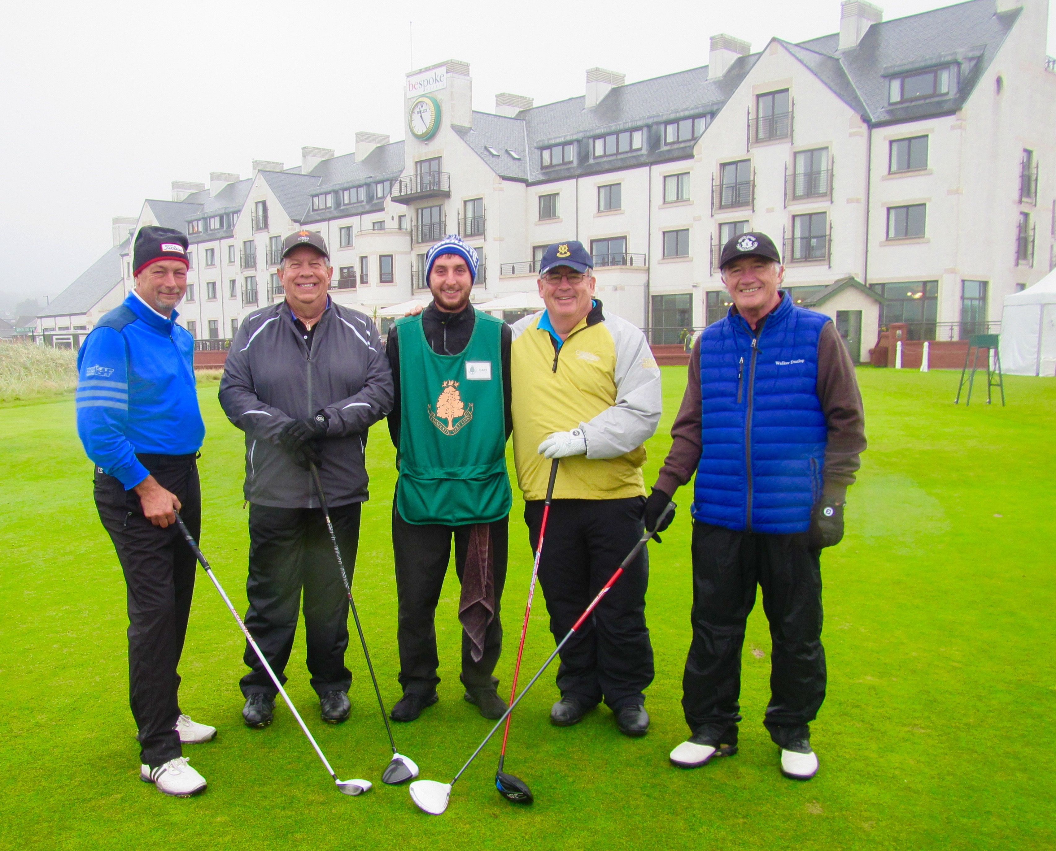 Our Carnoustie Foursome