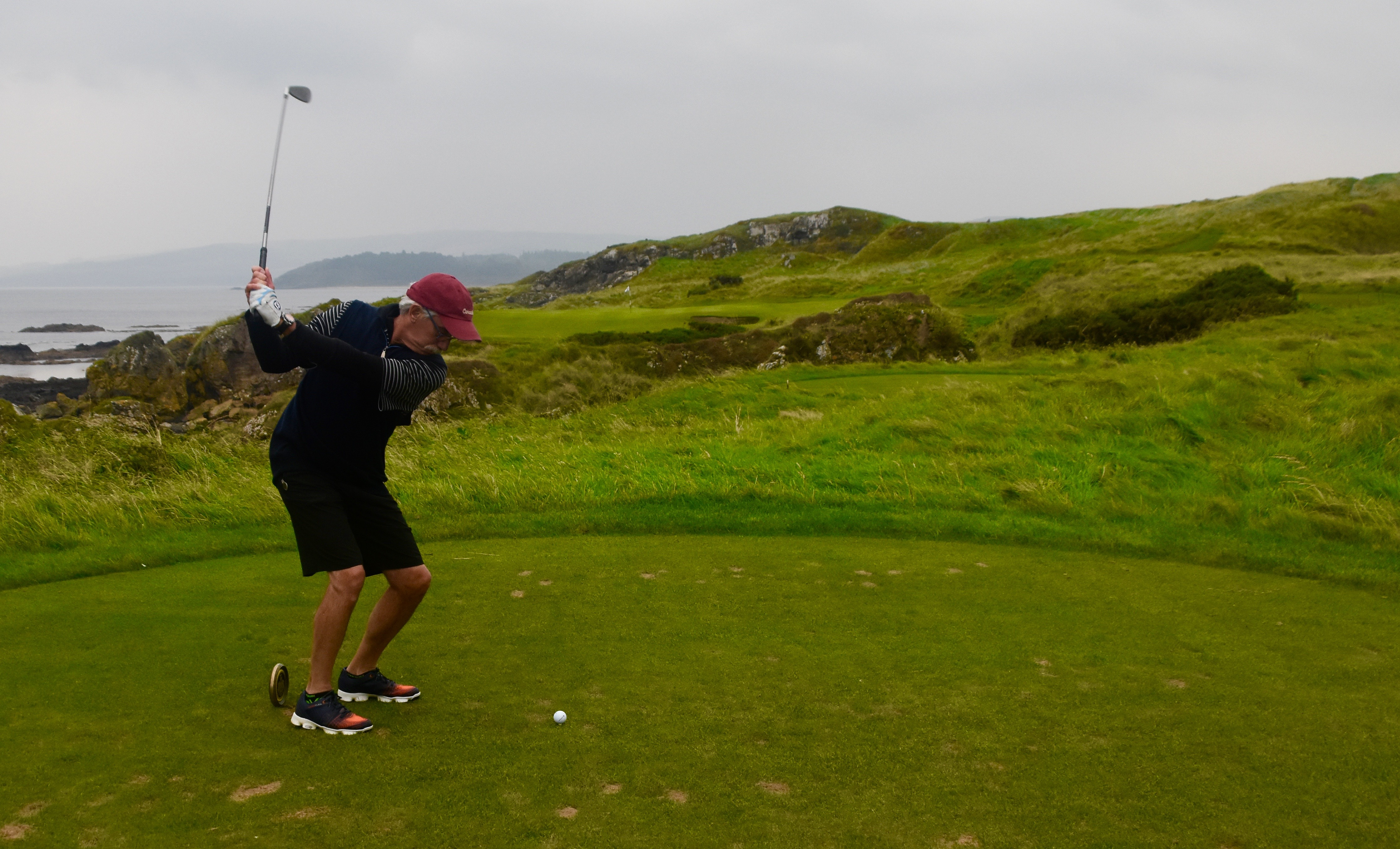 Pete Teeing off on No. 11