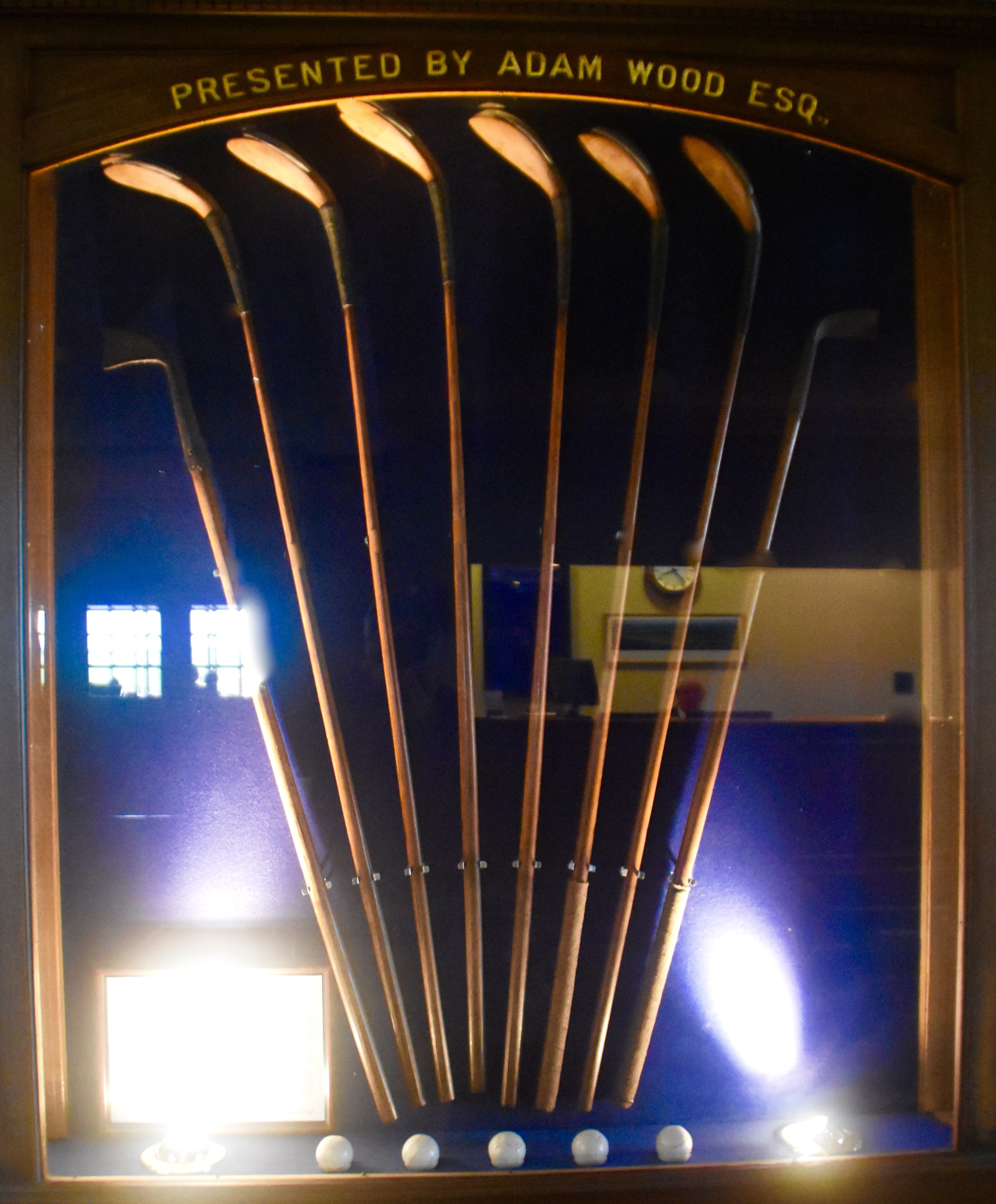 Rare Club Display, Troon