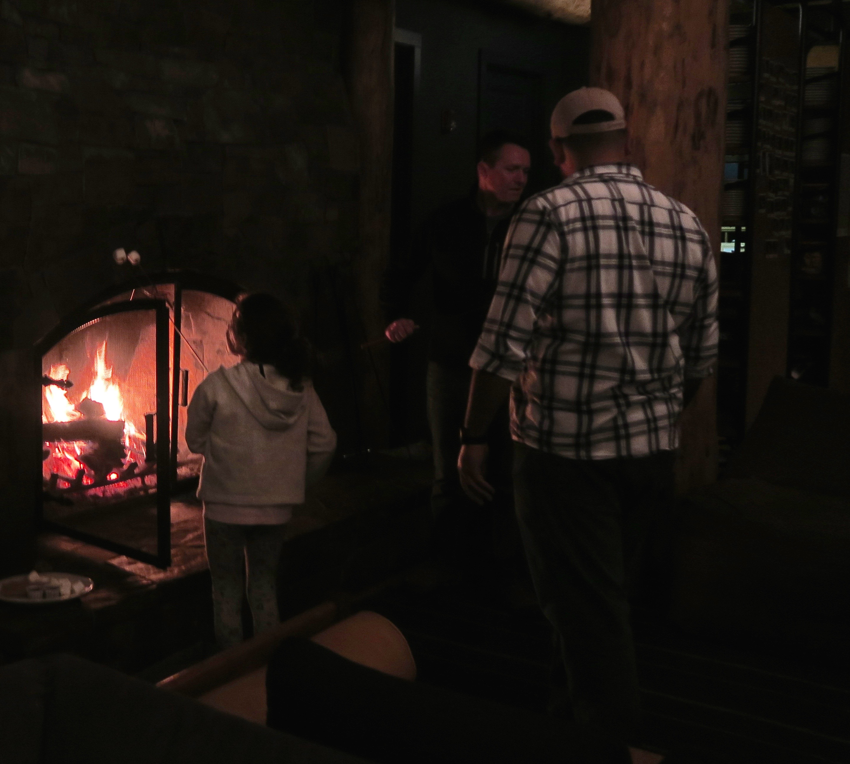 Roasting Marshmallows, Suttle Lodge