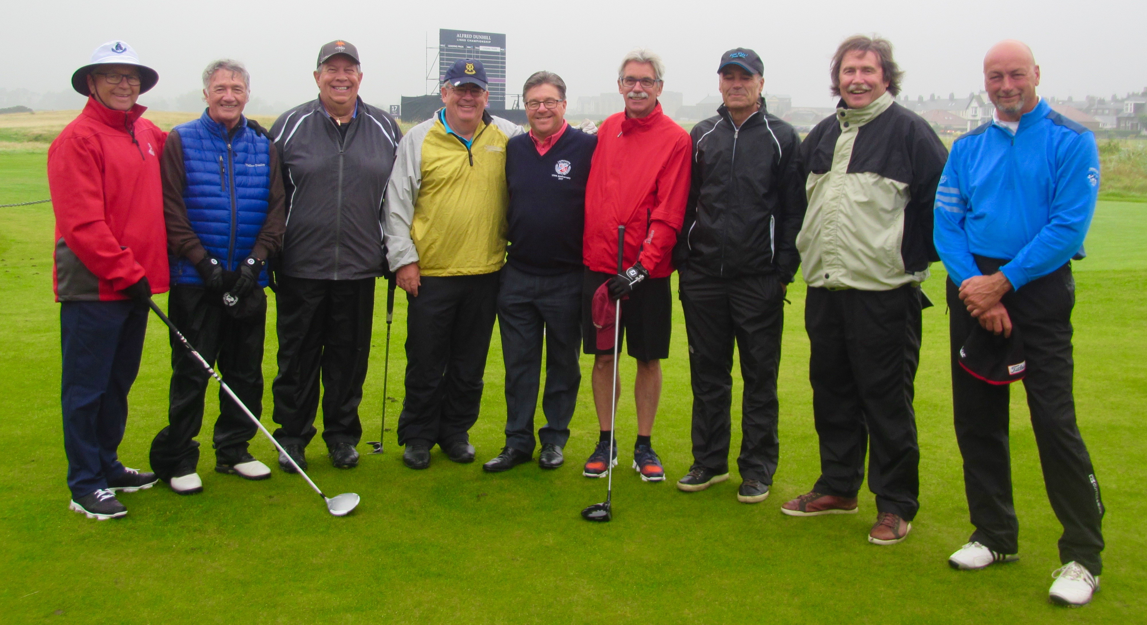 With the Carnoustie Captain Bill Thompson