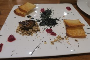 Foie Gras with Quince Jelly, 5 Fusion