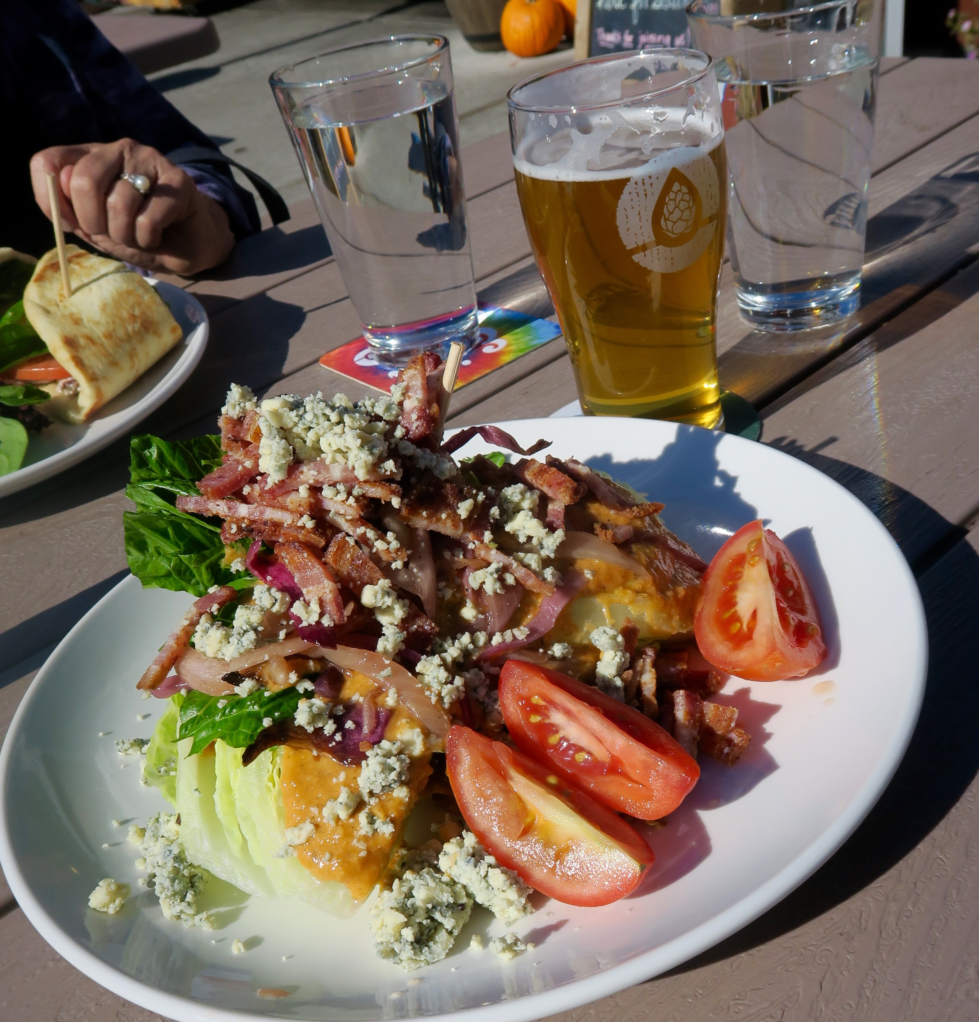 Romaine Salad, Immersion Brewing, Bend