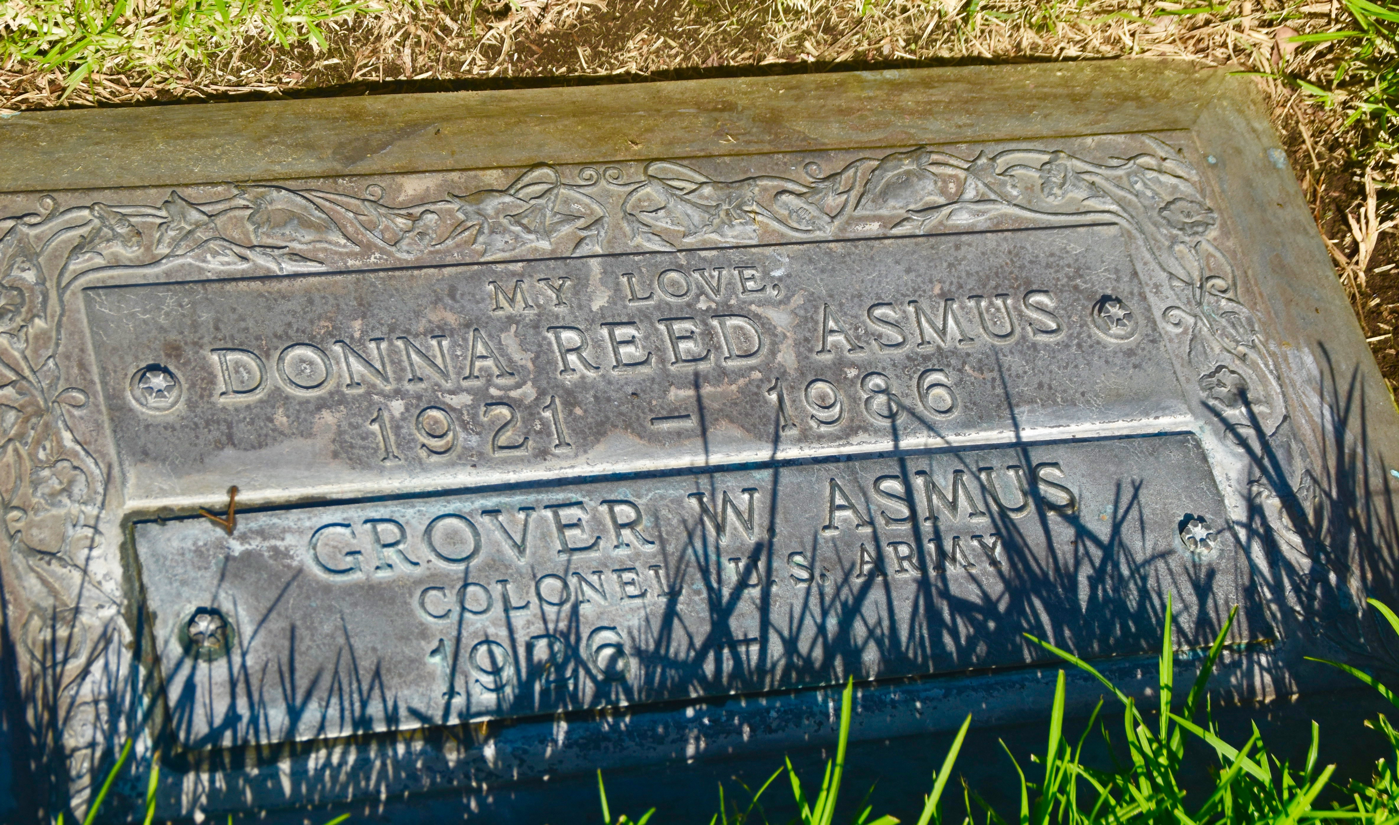 Donna Reed, Westwood Village Cemetery