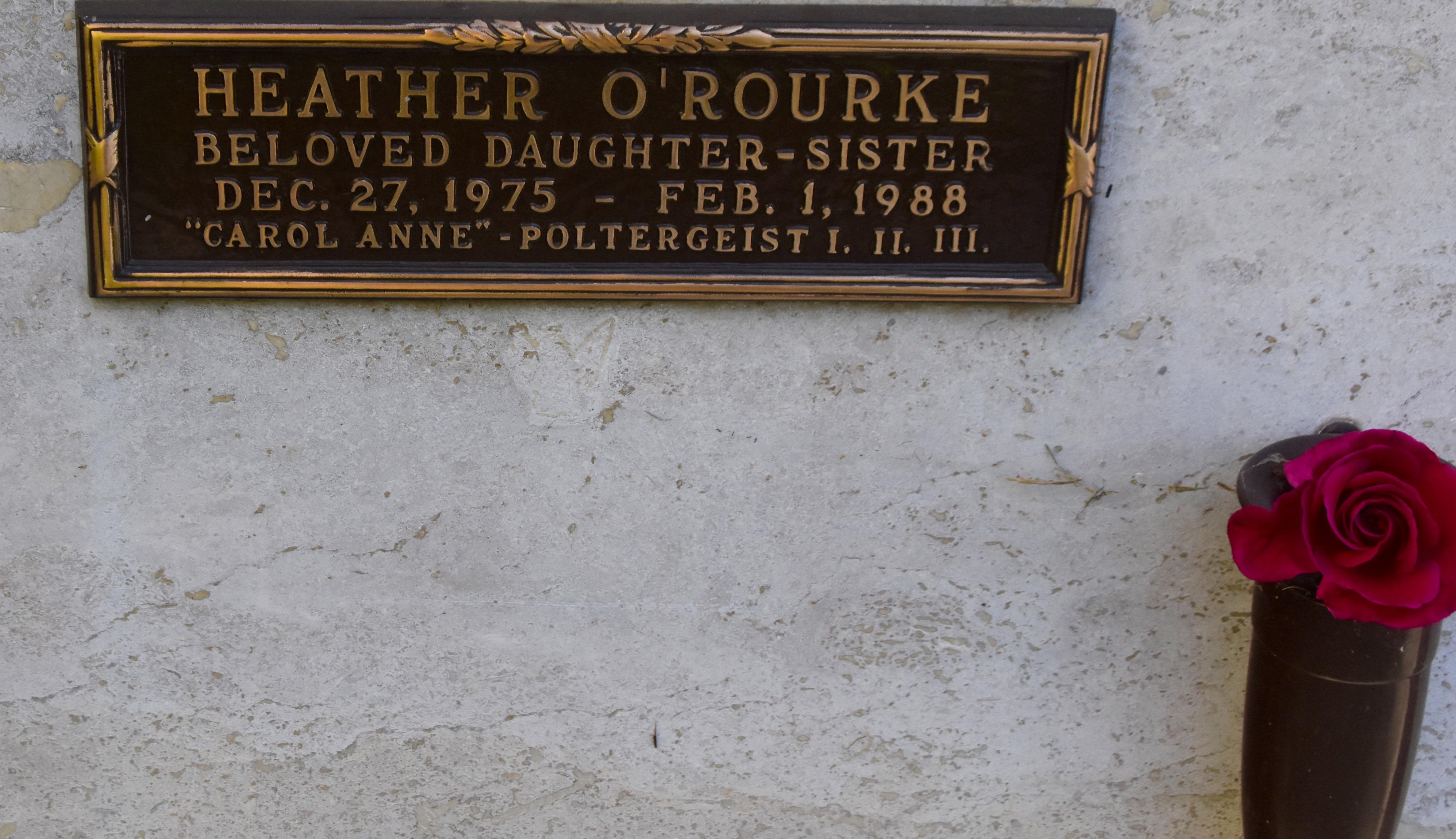 Heather O'Rourke, Westwood Village Cemetery