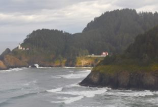 Heceta Head from the Lookoff
