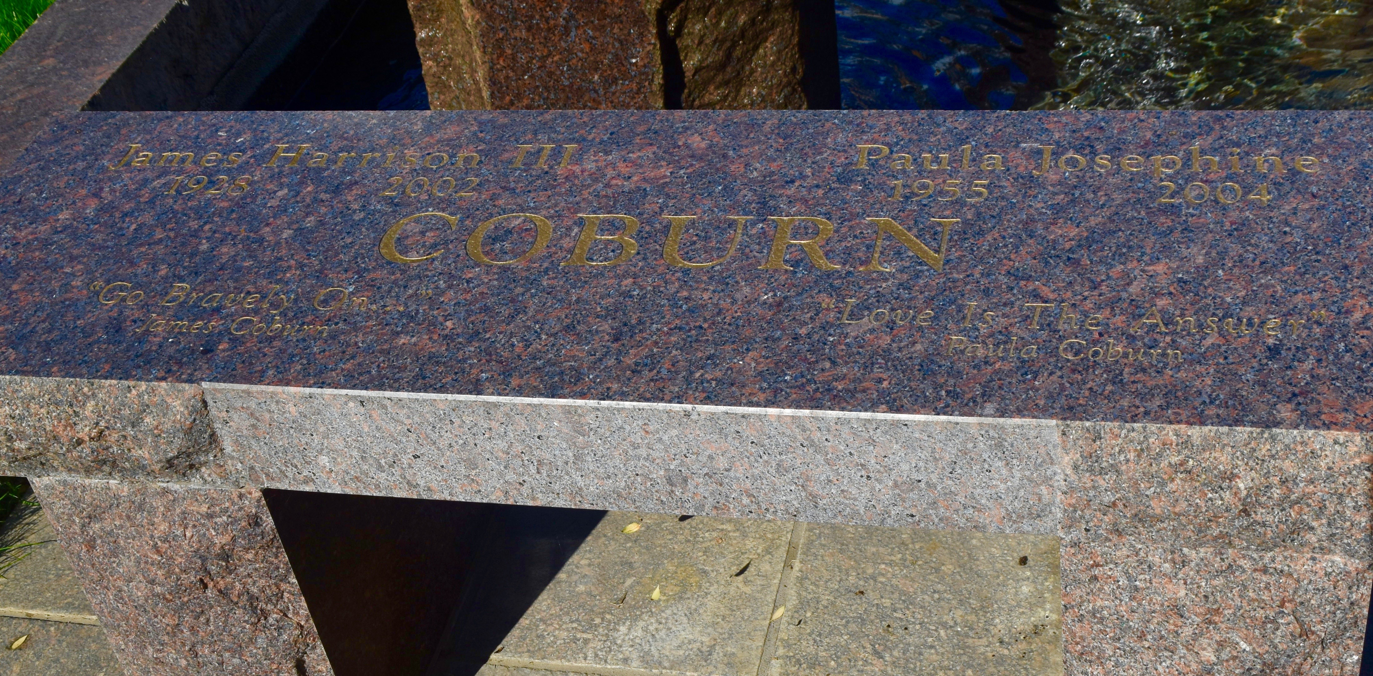 James Coburn, Westwood Village Cemetery