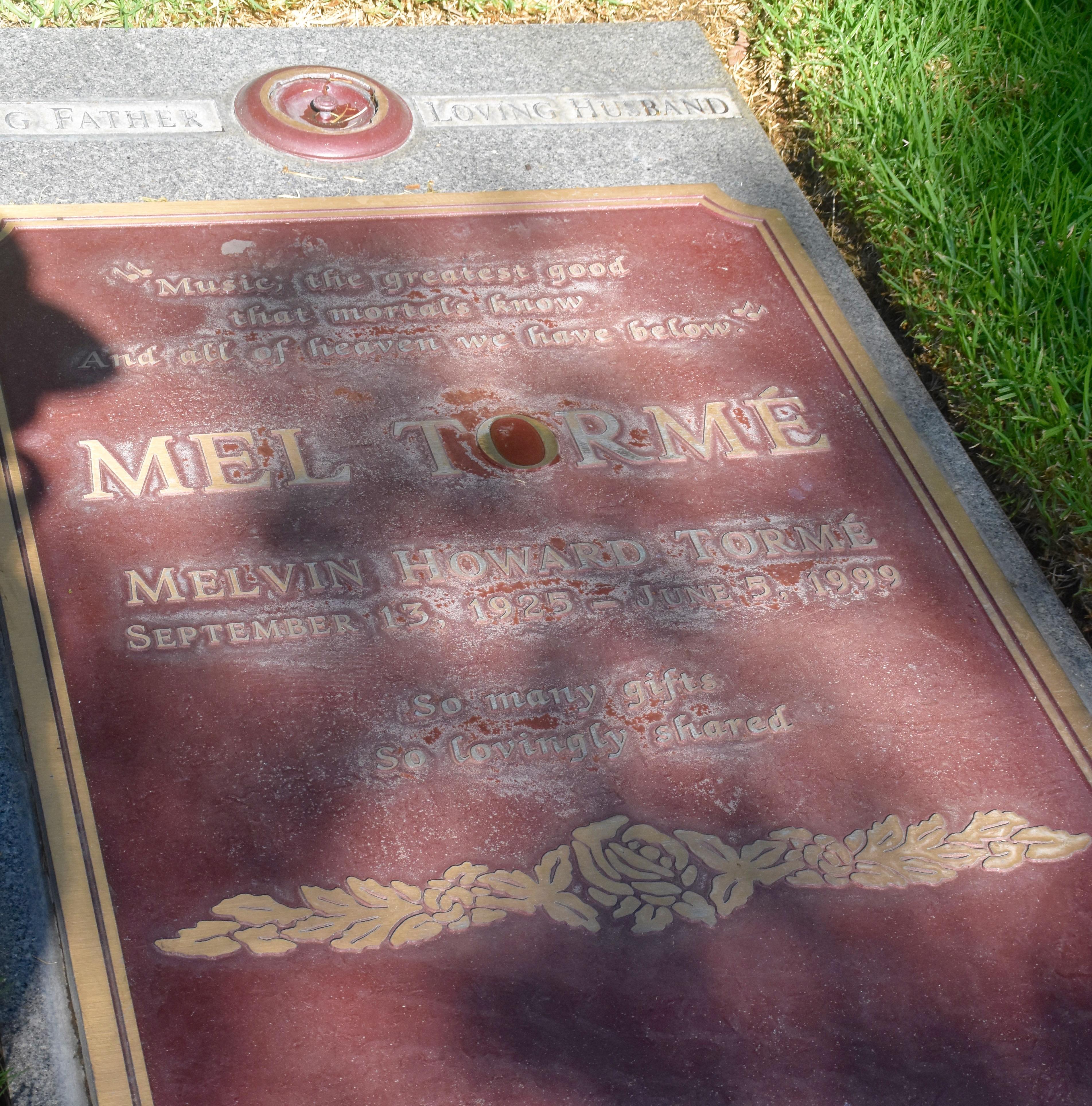 Mel Torme, Westwood Village Cemetery