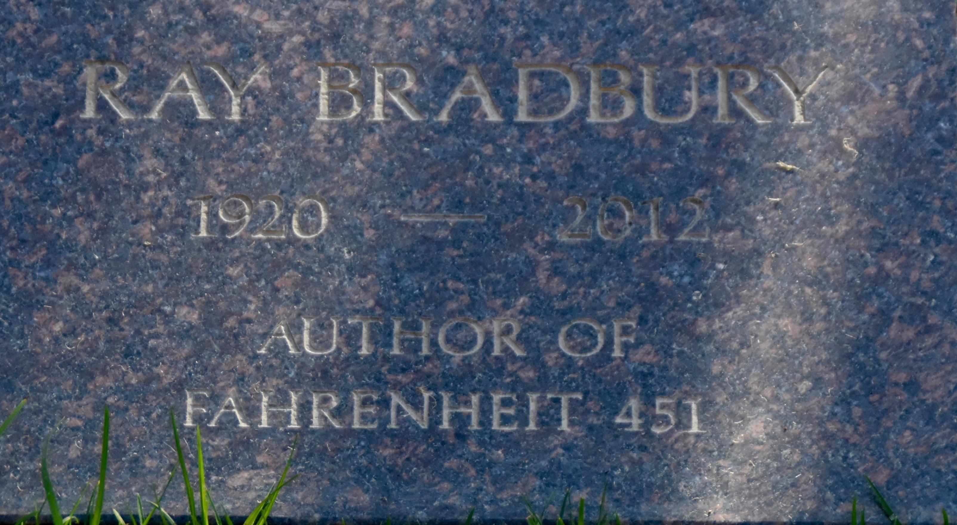 Ray Bradbury, Westwood Village Cemetery