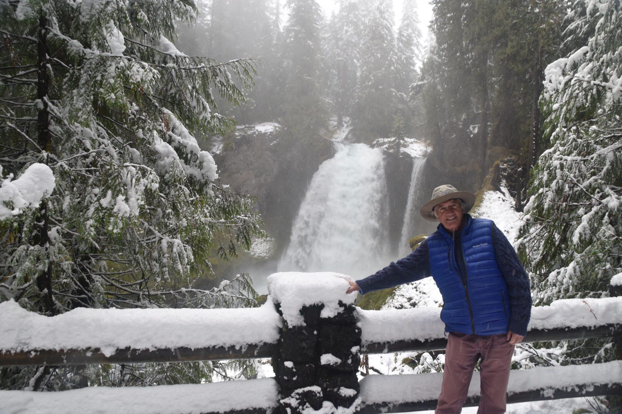 At Sahalie Falls, Lane County, Oregon