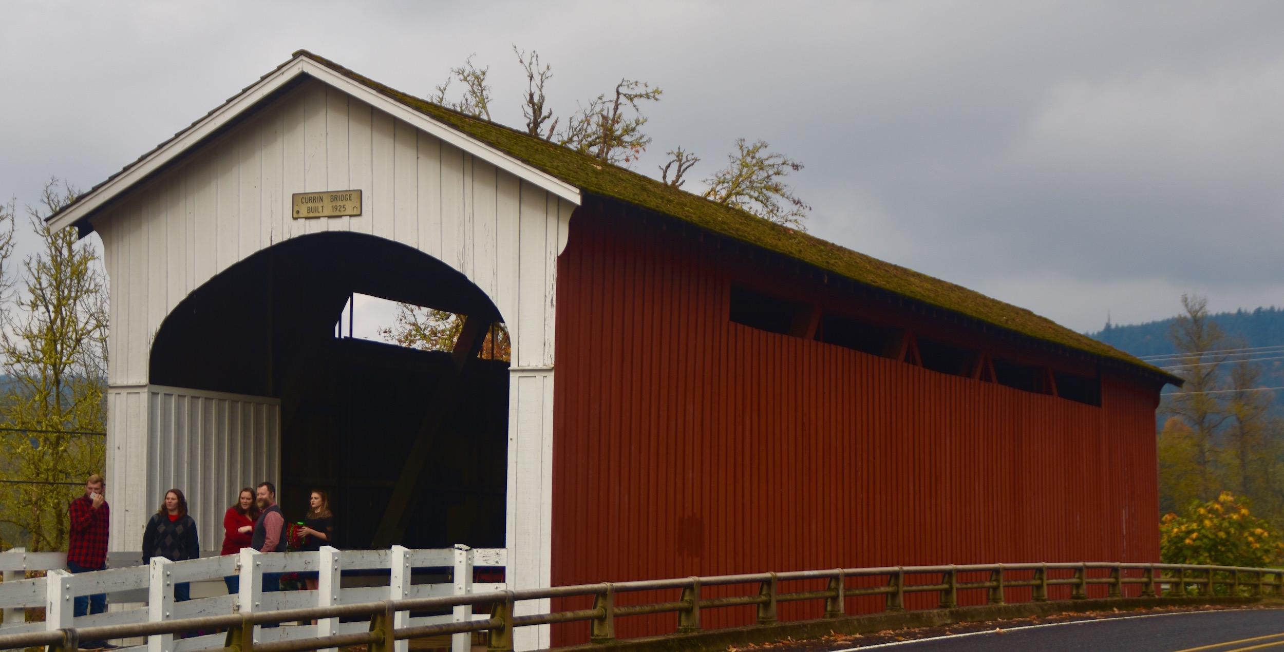 Currin Bridge, Lane County