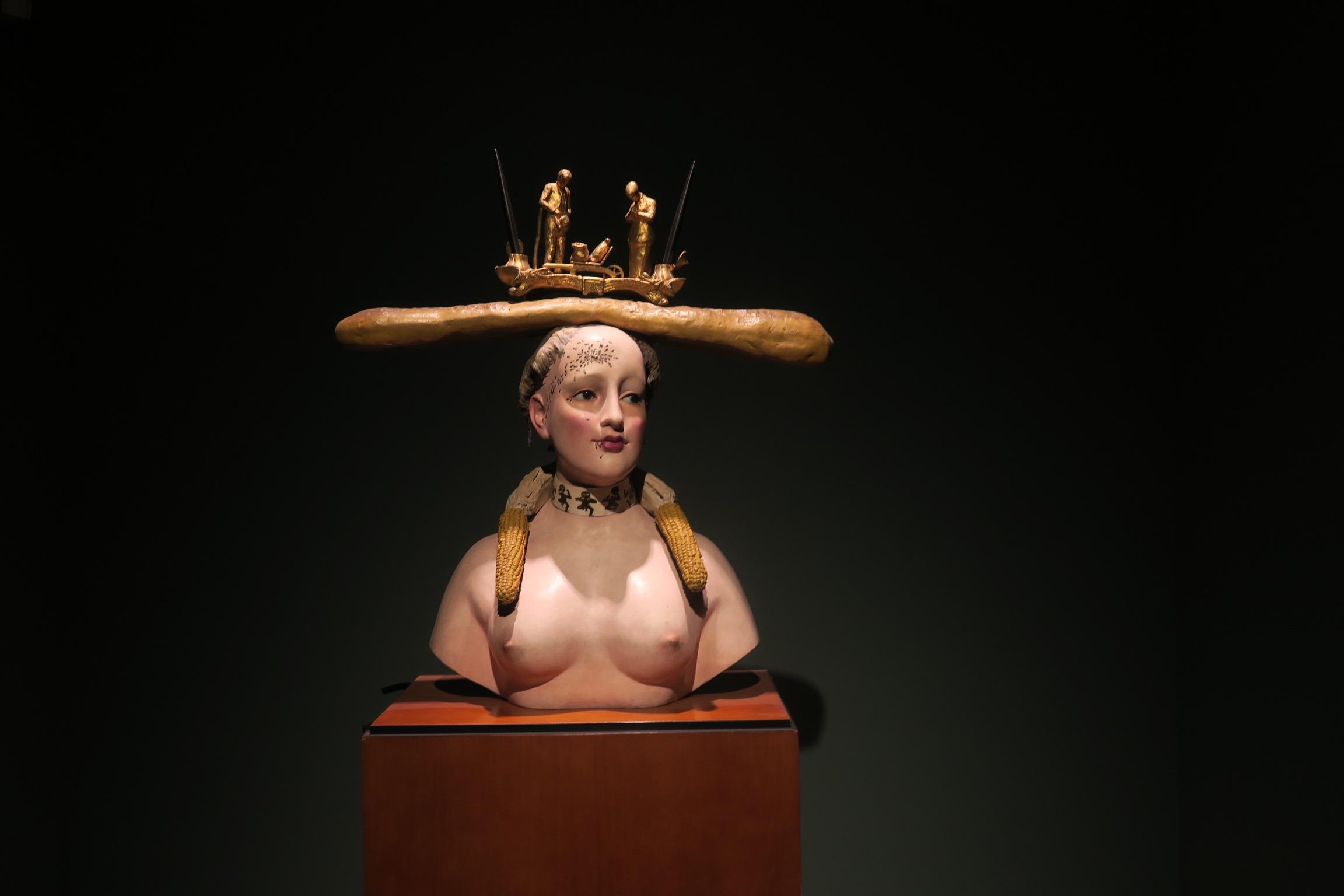 Salvador Dali in the Botero Museum