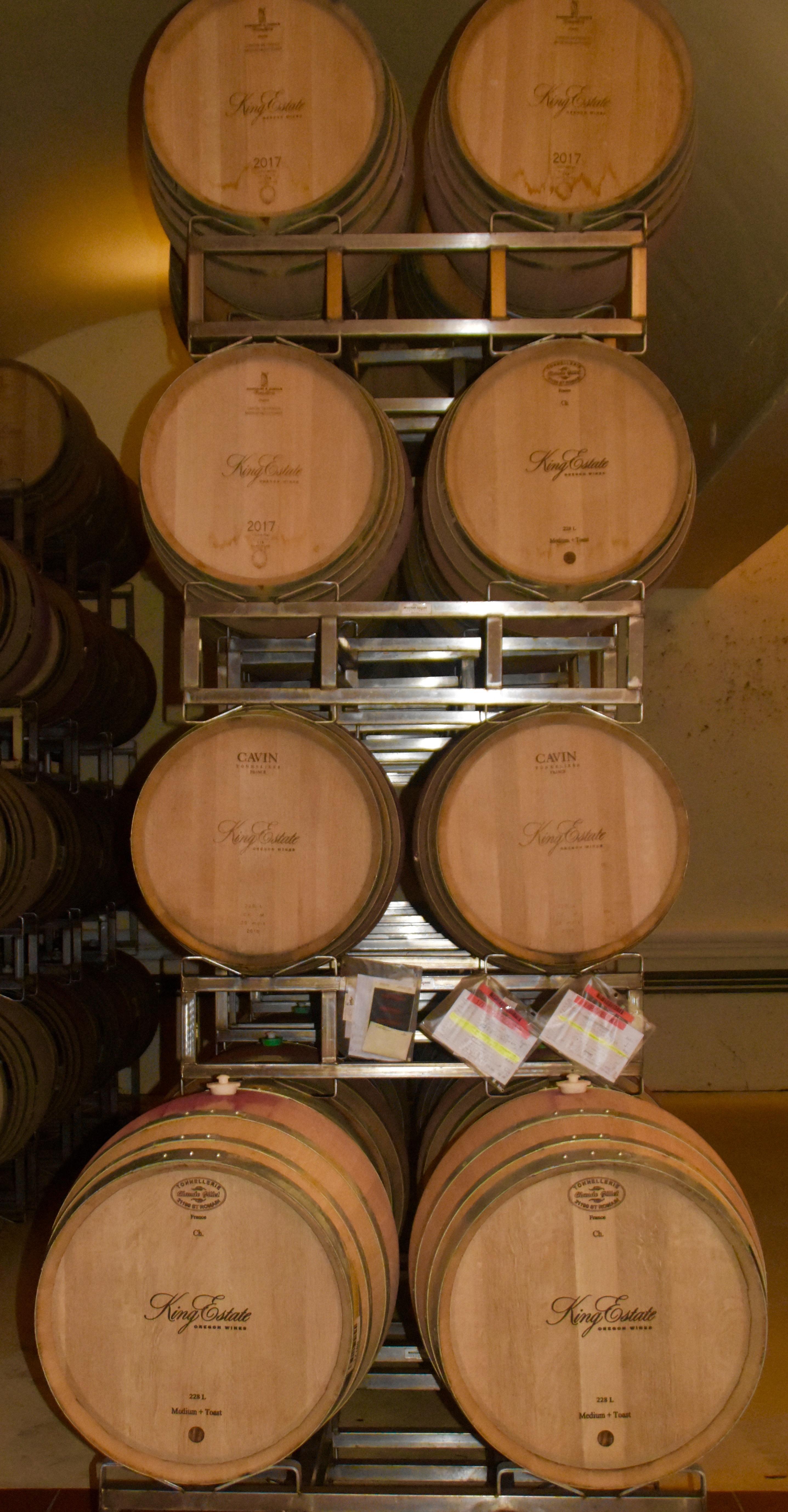 King Estate Barrels