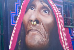Native Woman, La Candelaria