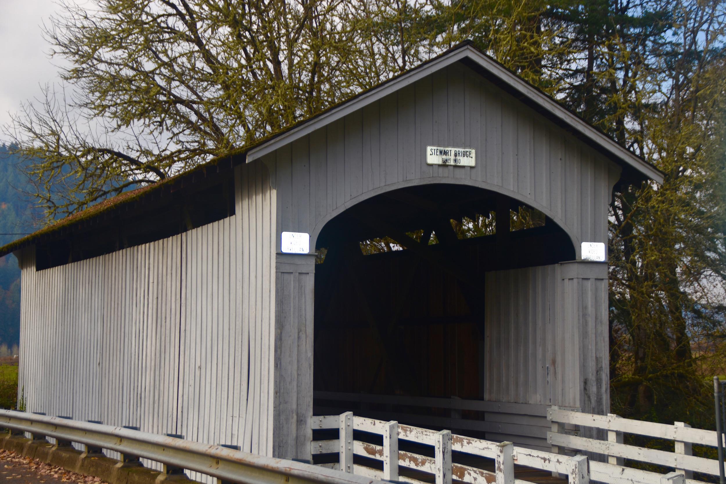 Stewart Bridge, Lane County
