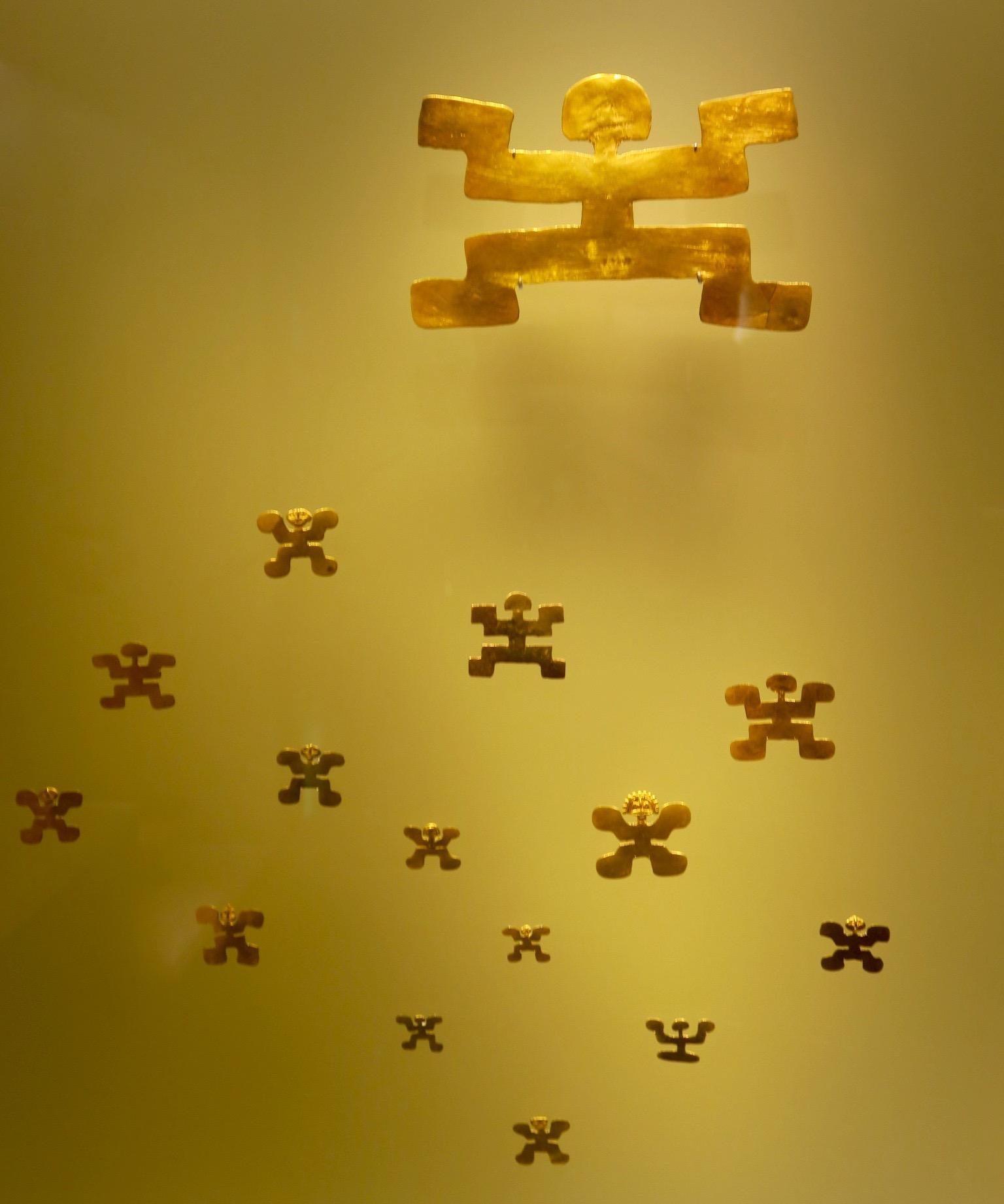 Gold X Figures