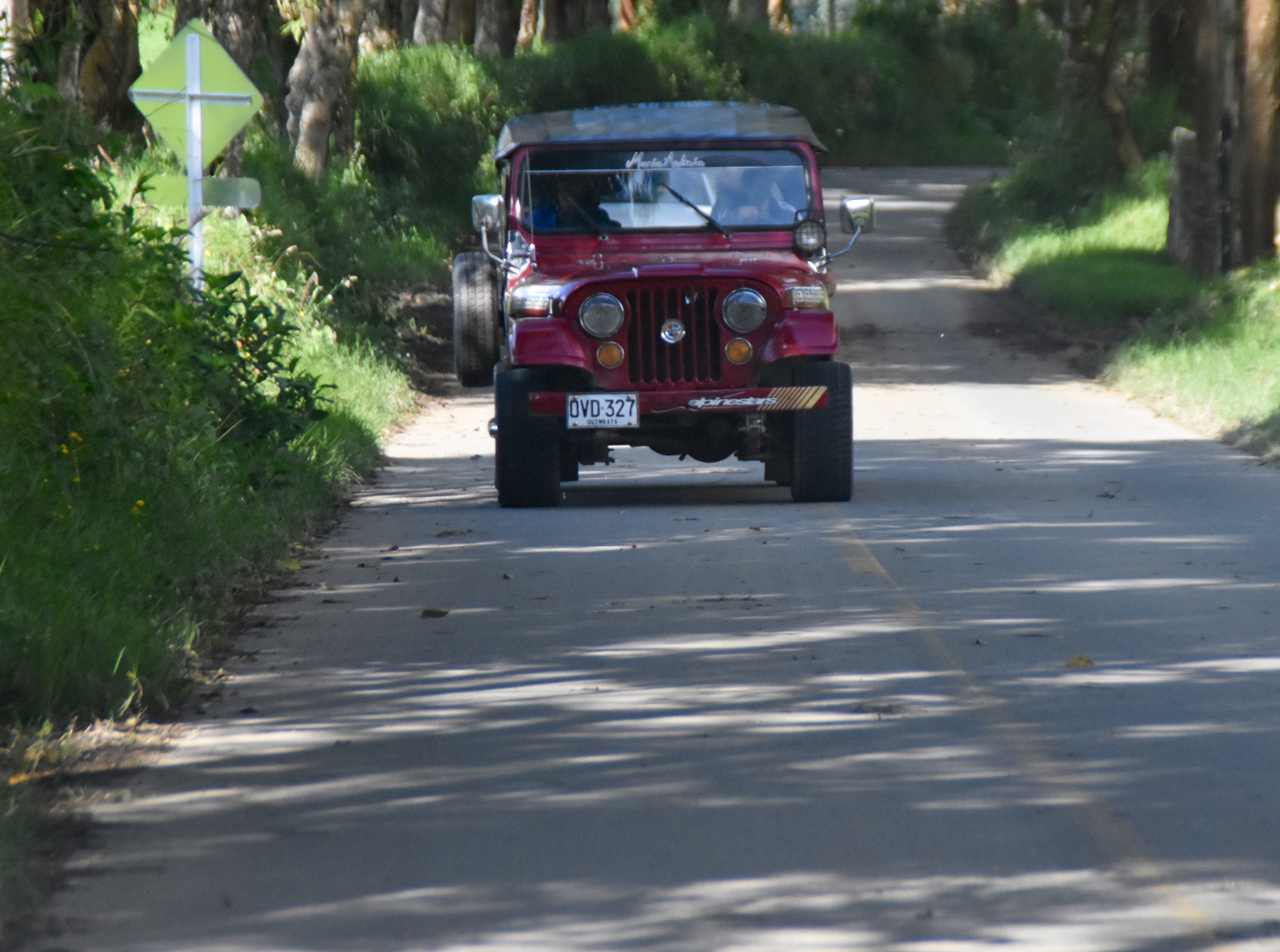 Getting to Valle de Cocora by Willys