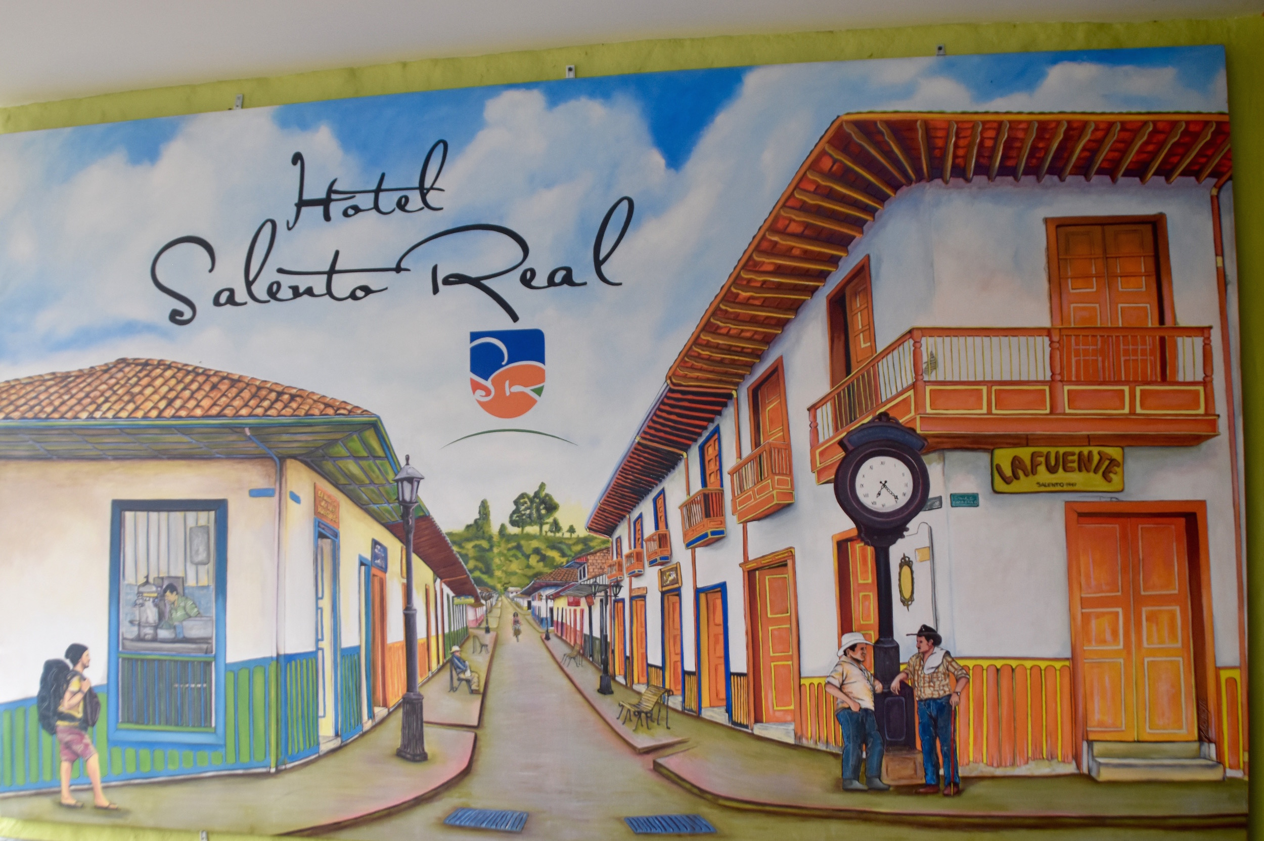 Hotel Salento Real Mural