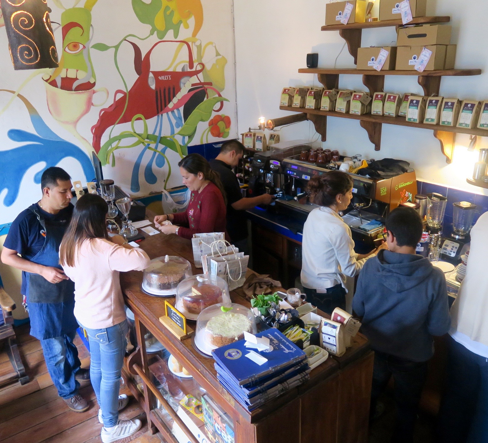 Jesus Martin Coffee Shop