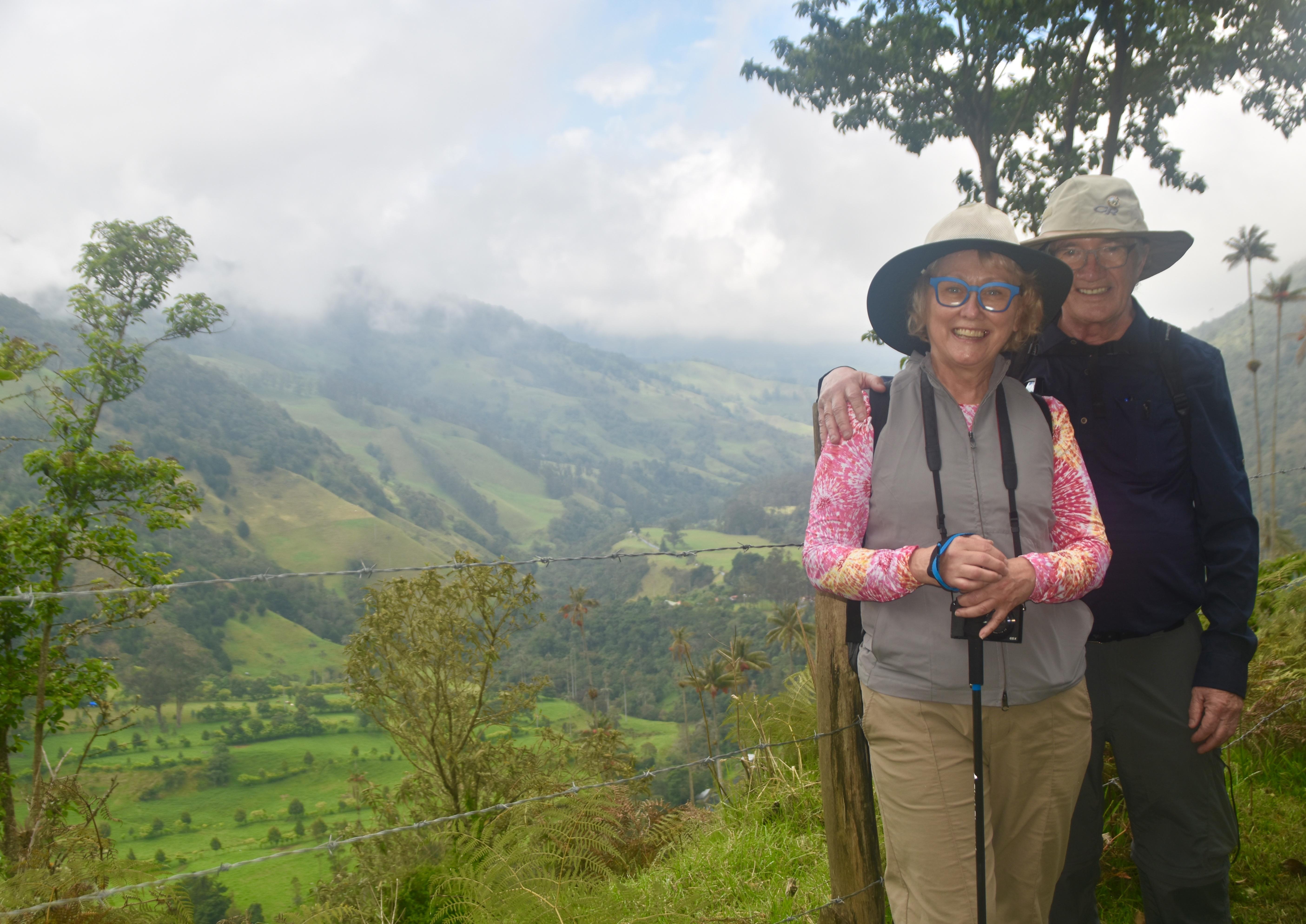 Overlooking Valle de Cocora