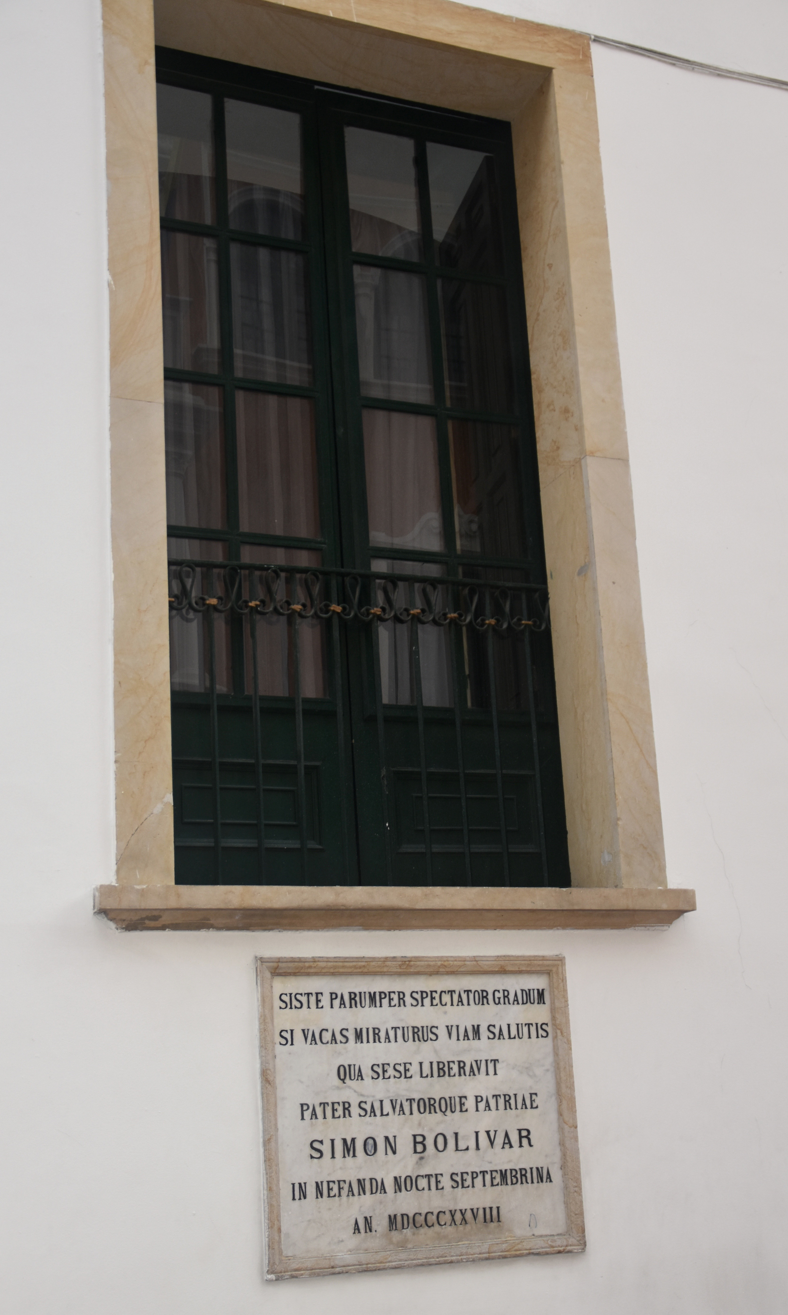 Simon Bolivar Window