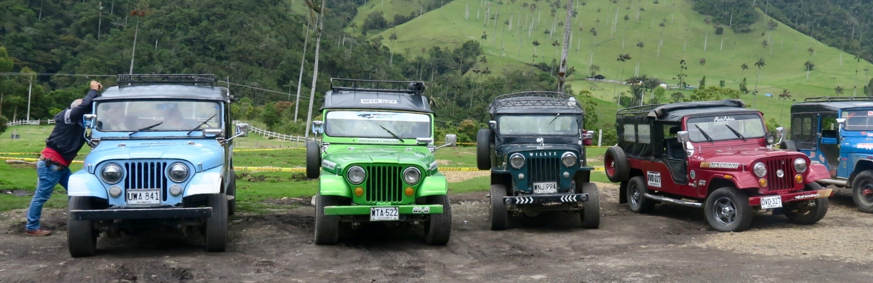 The Willys at Valle de Cocora