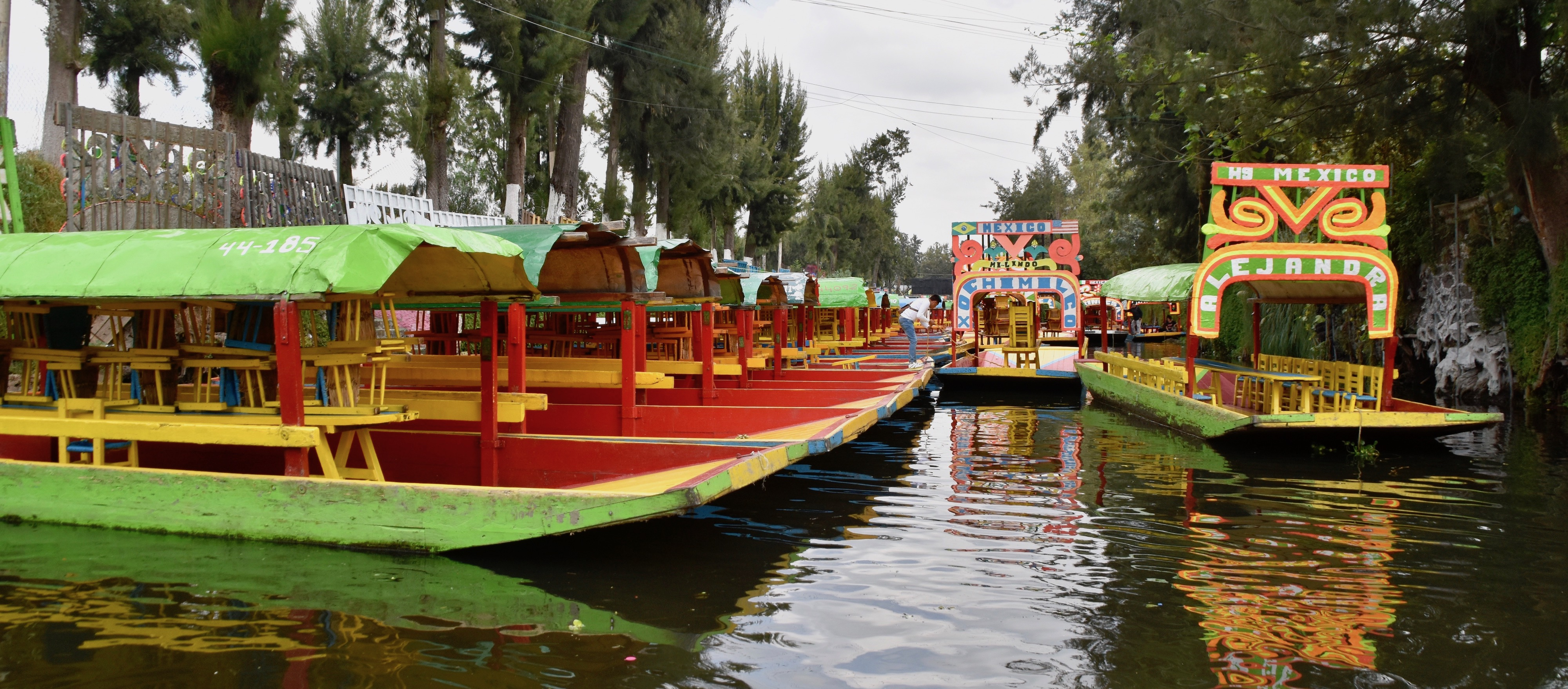 Trajineras for Rent, Xochimilco