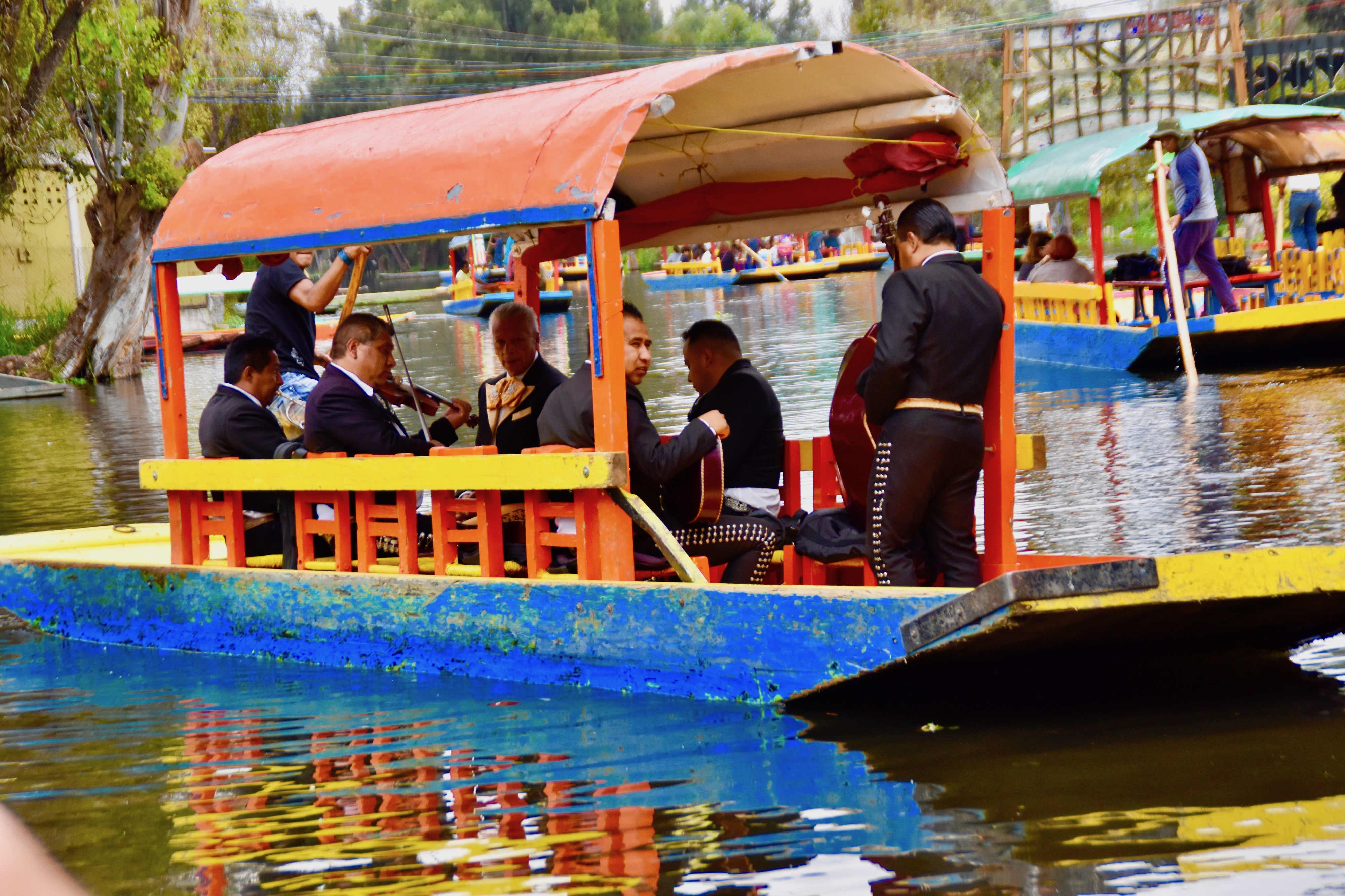 Traveling Mariachi Band, Xochimilco