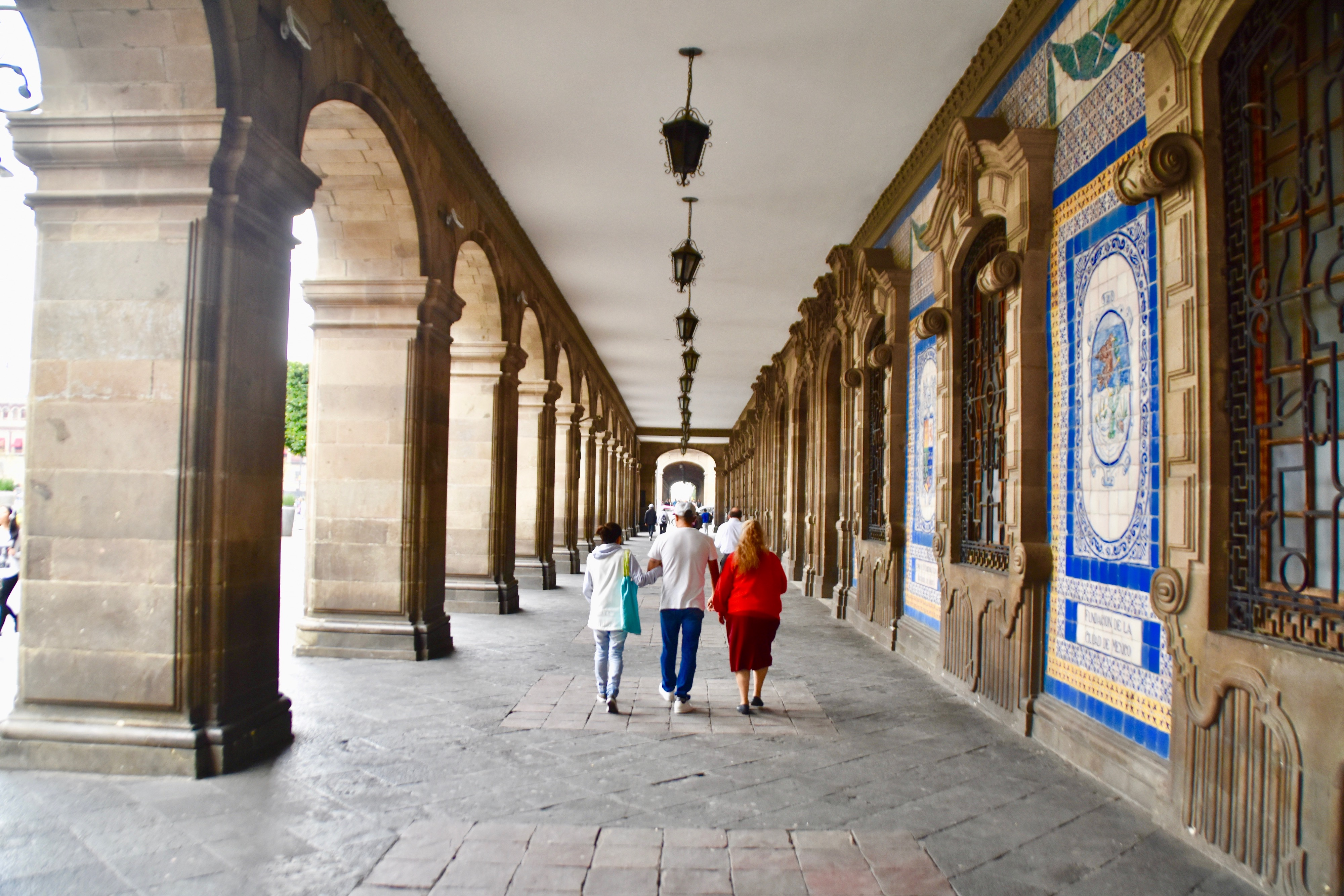 Colonnade on the Zocalo, Mexico City