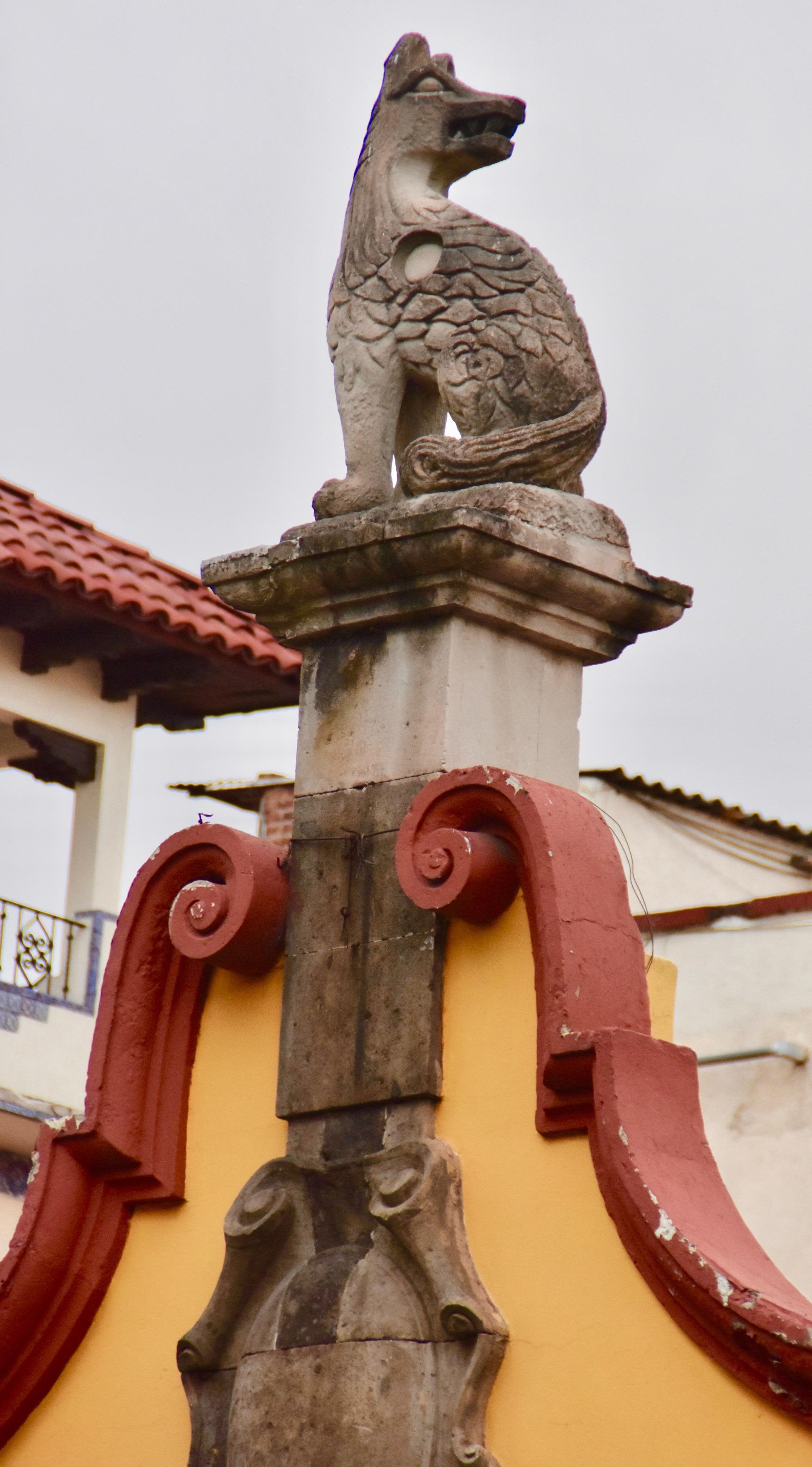 Rooftop Coyote, Coyoacan