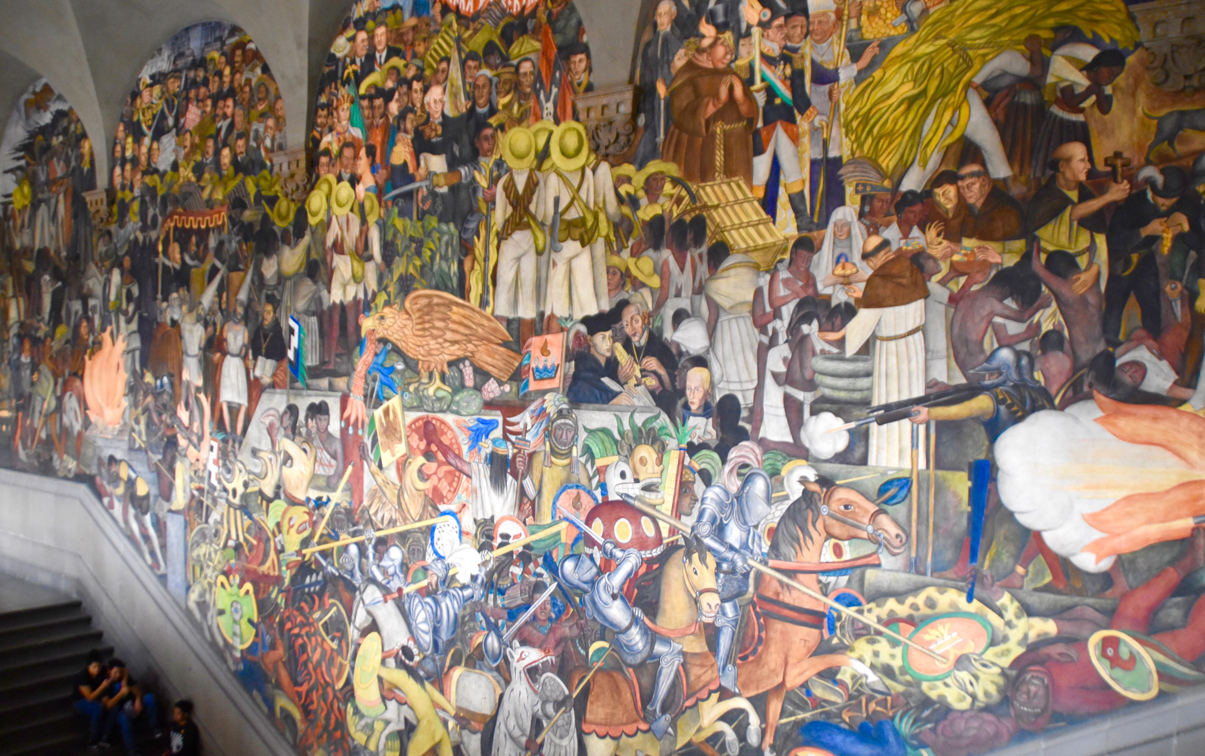 Grand Staircase Mural, National Palace, Mexico City