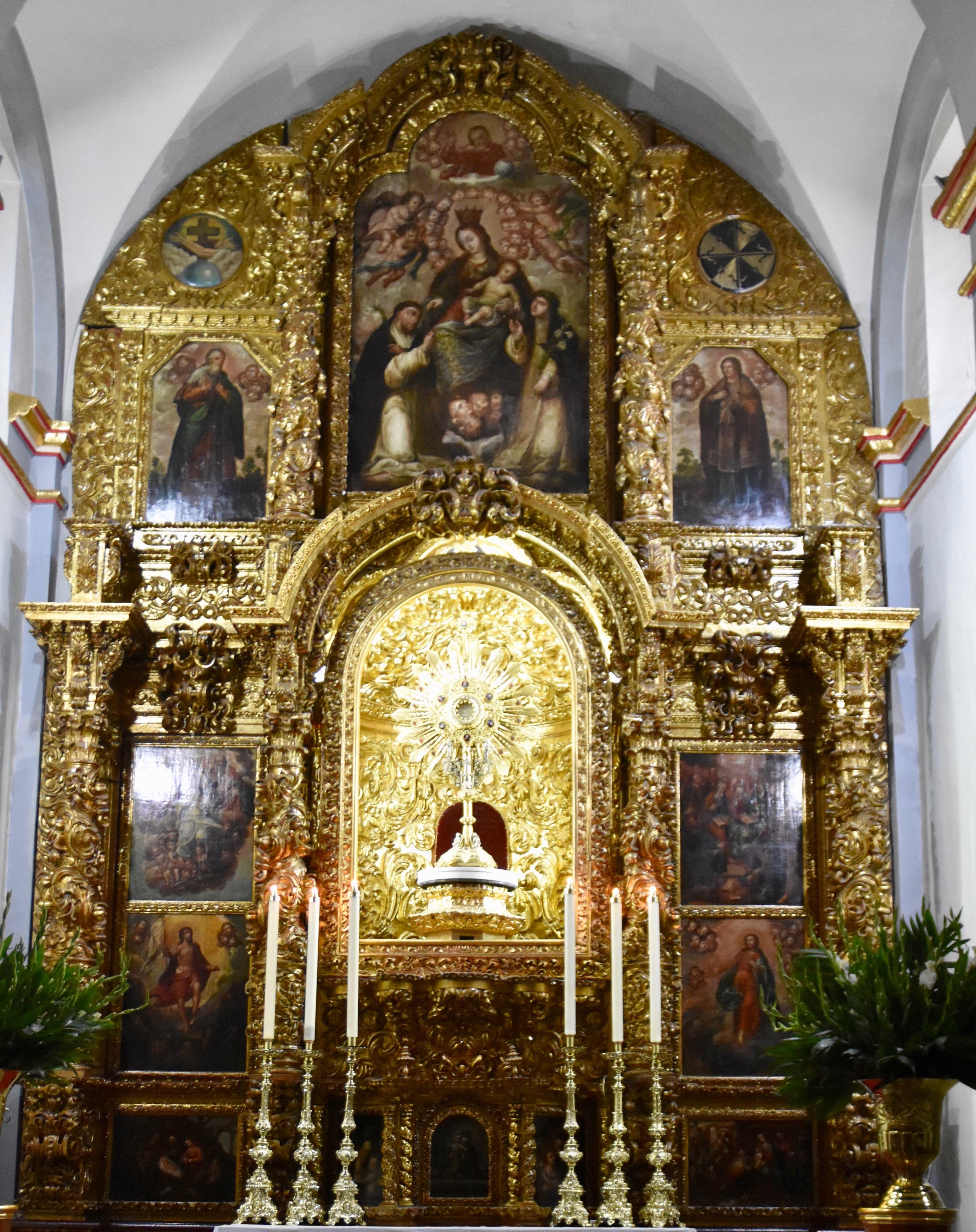 Rosario Chapel, Coyoacan