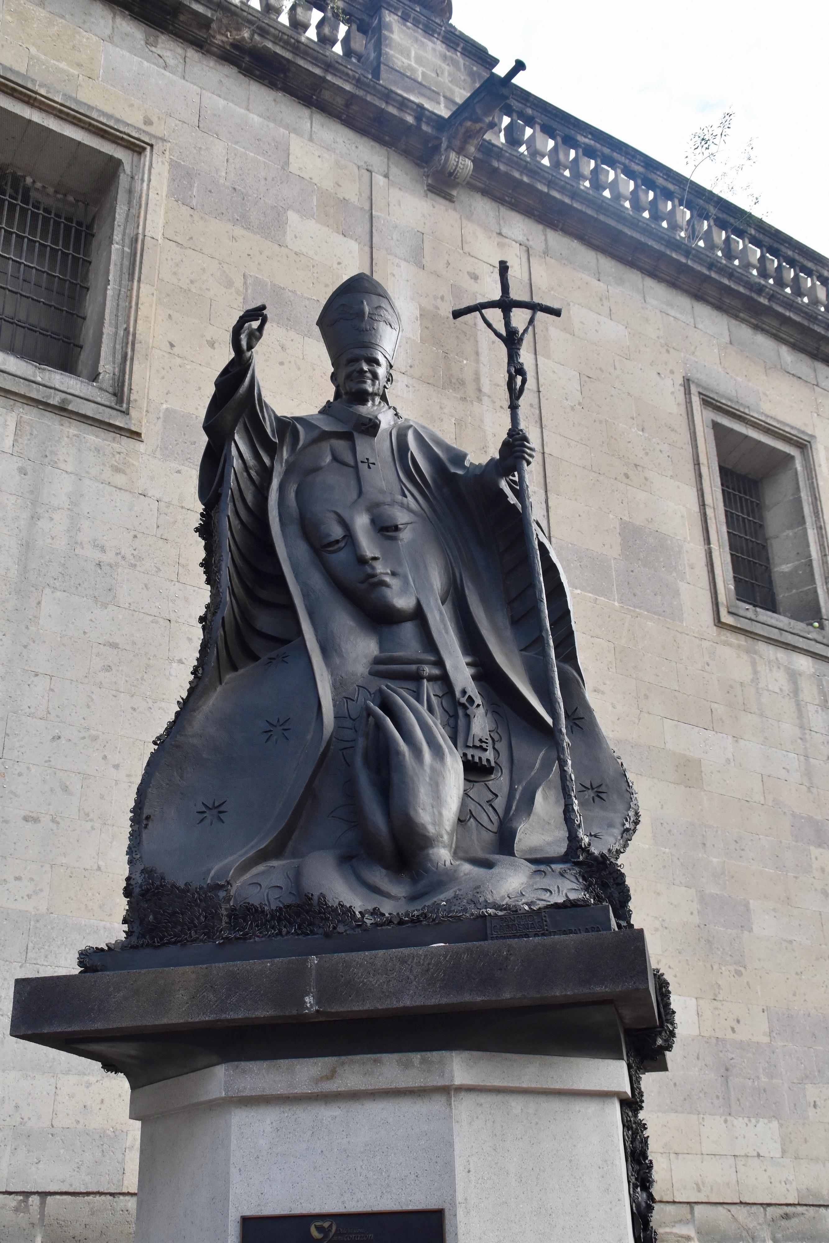Pope John Pail II, Mexico City