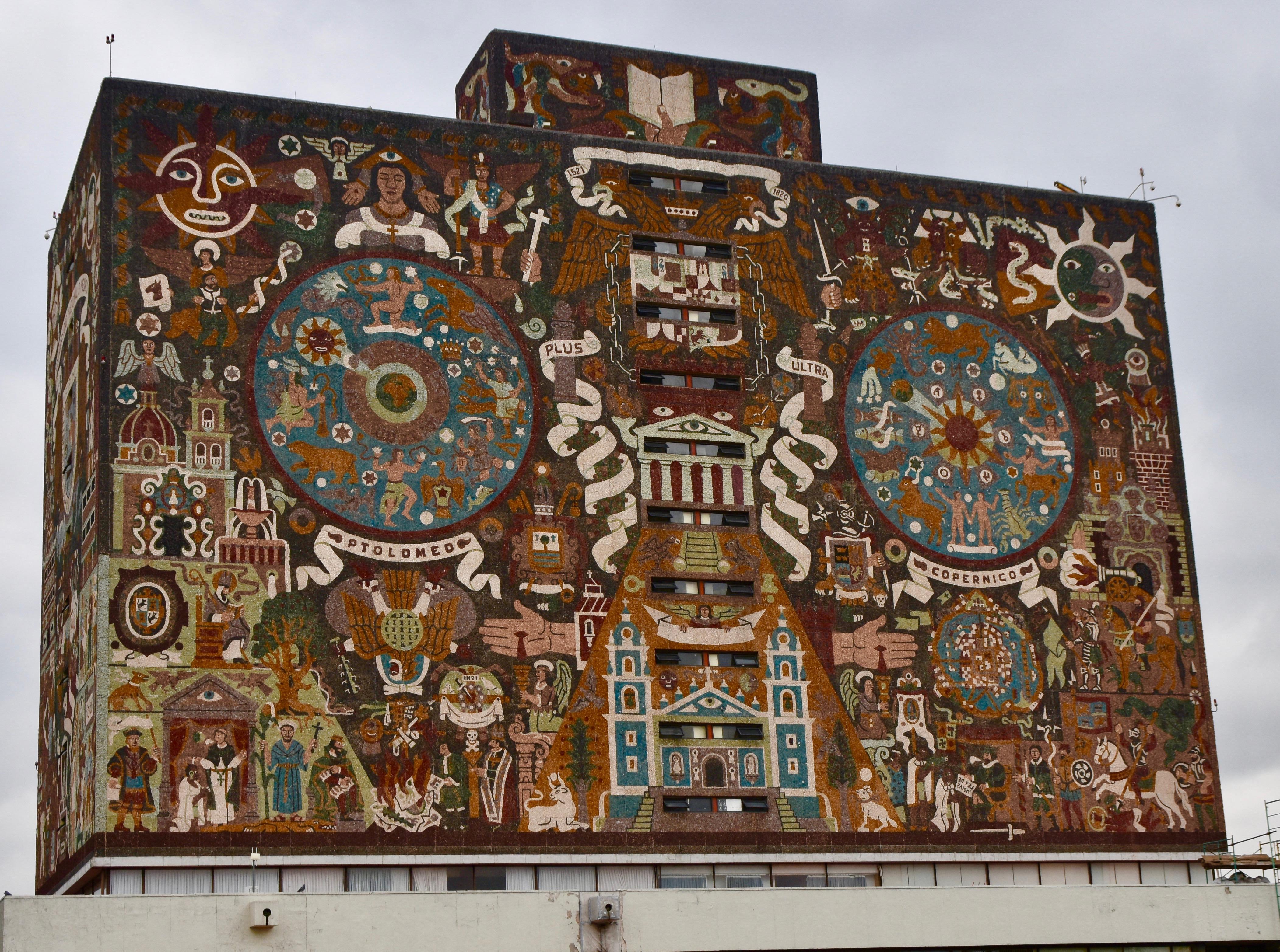 Biblioteca Central, Mexico City