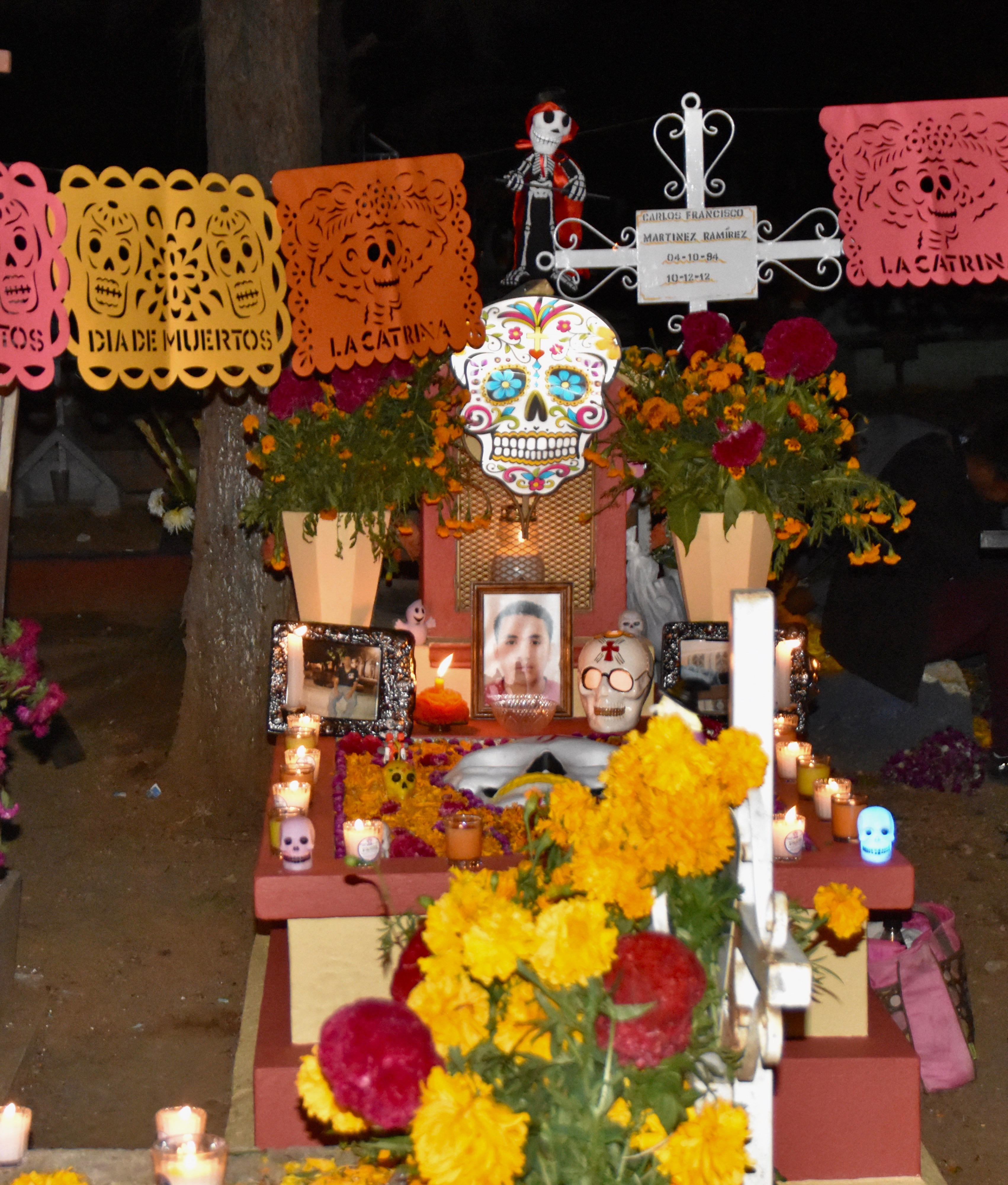 Cemetery Ofrenda,. Day of the Dead