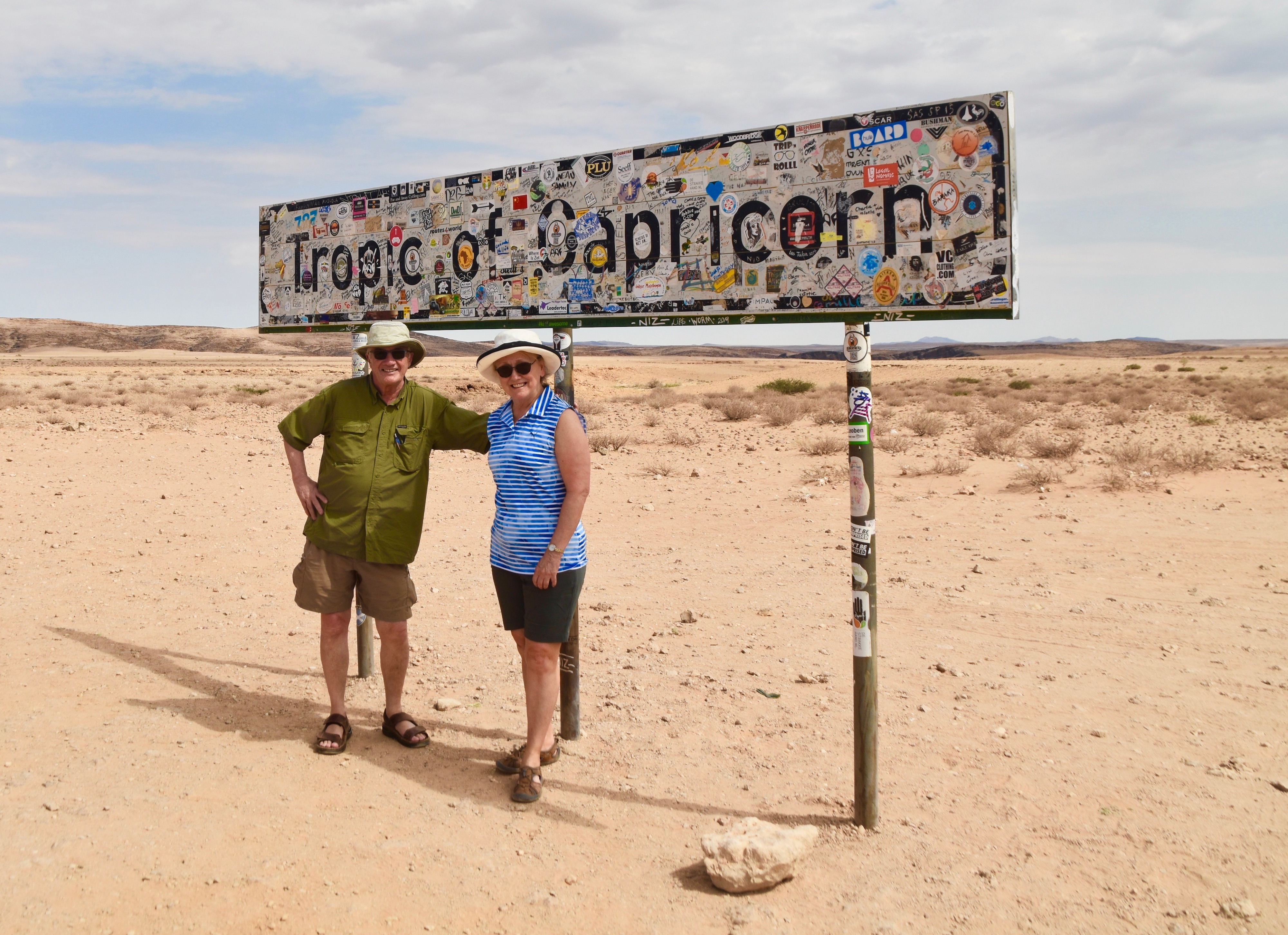 Exploring Namibia - Tropic of Capricorn