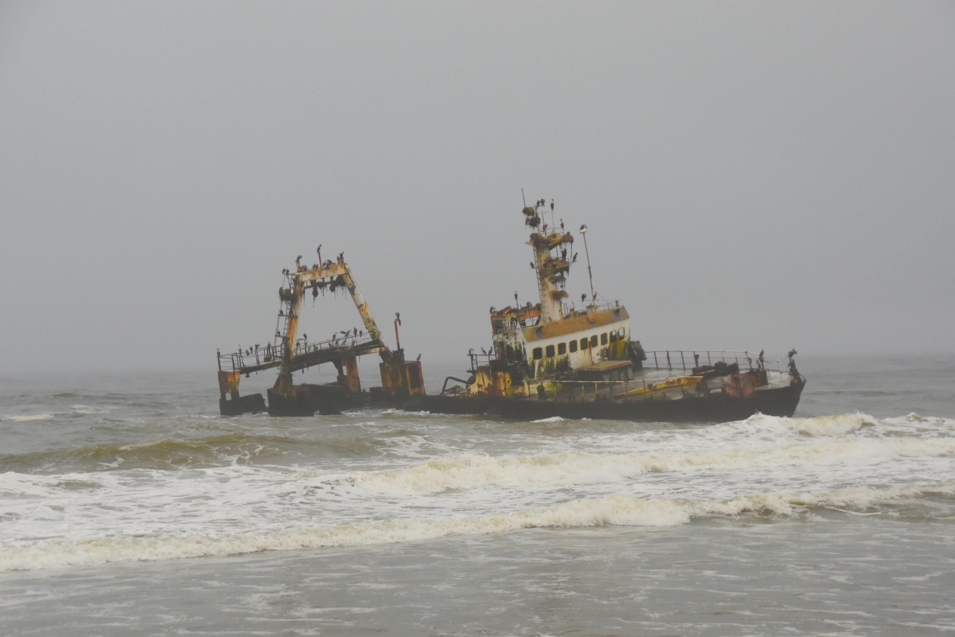 Wreck of the Zeila, Skeleton Coast